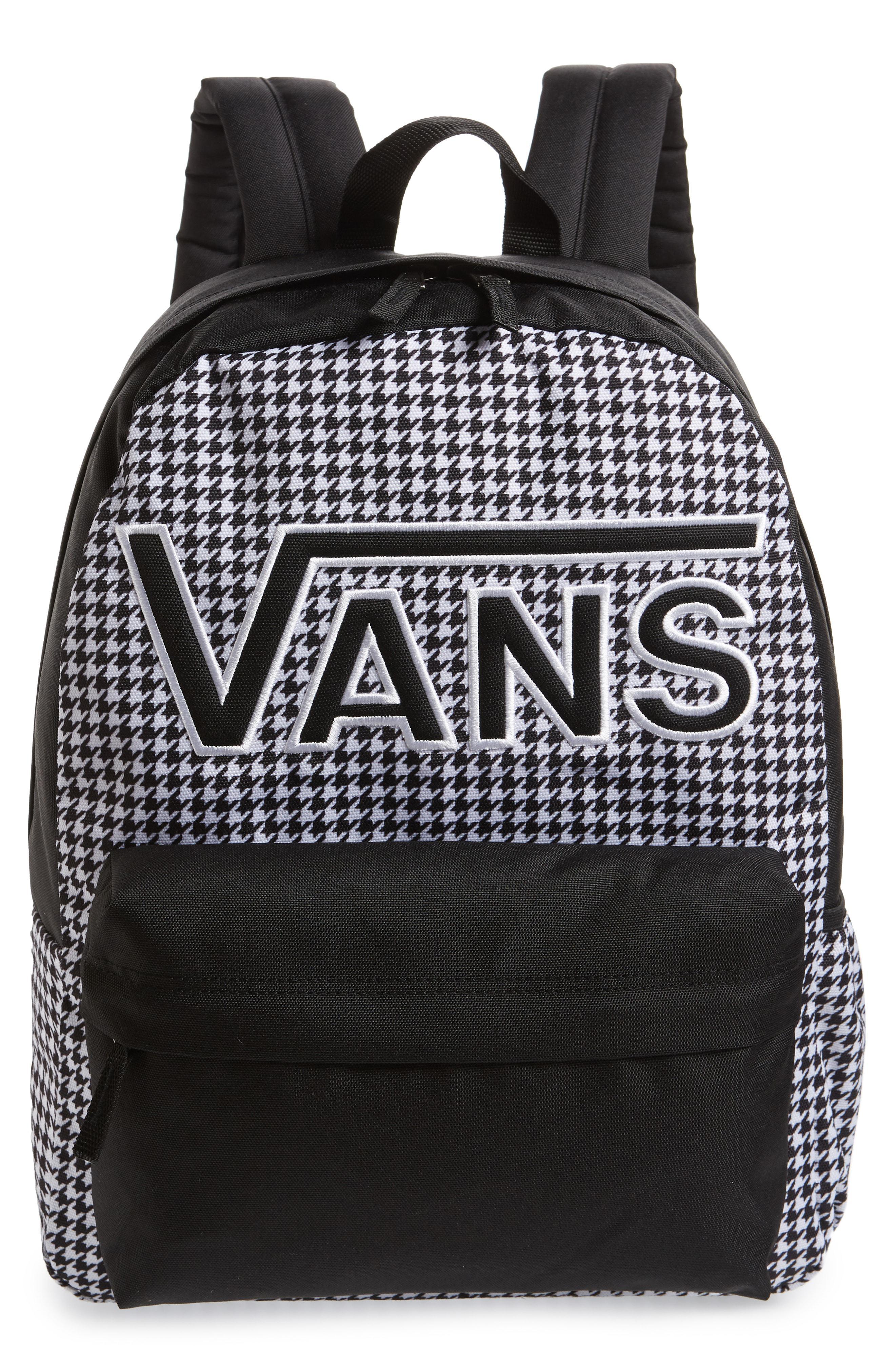 9d8107340b Lyst - Vans Realm Flying V Backpack - in Black