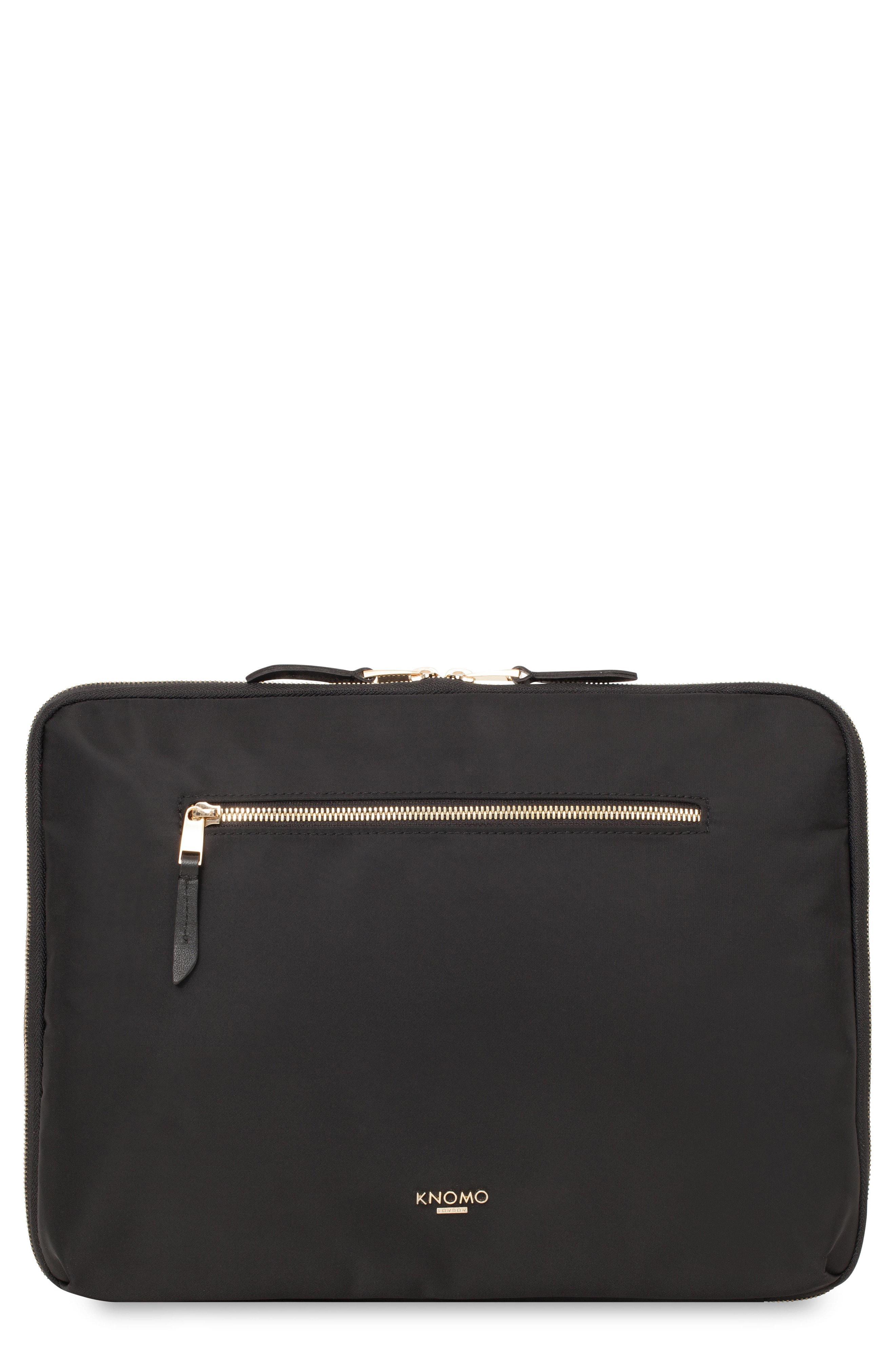 d64c949596 Lyst - Knomo Mayfair 12-inch Portfolio in Black for Men