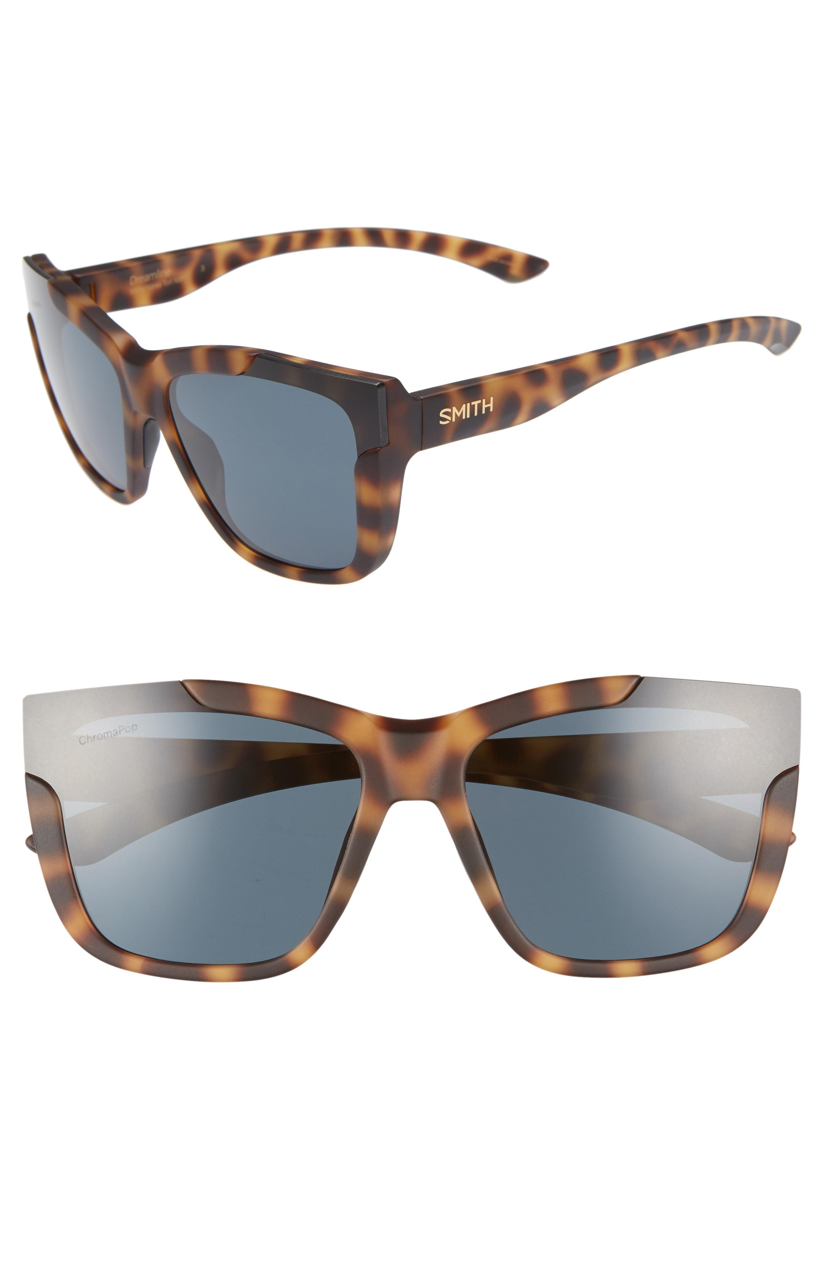 a4a56d7bff Smith - Blue Dreamline 62mm Butterfly Chromapop(tm) Polarized Sunglasses -  - Lyst. View fullscreen