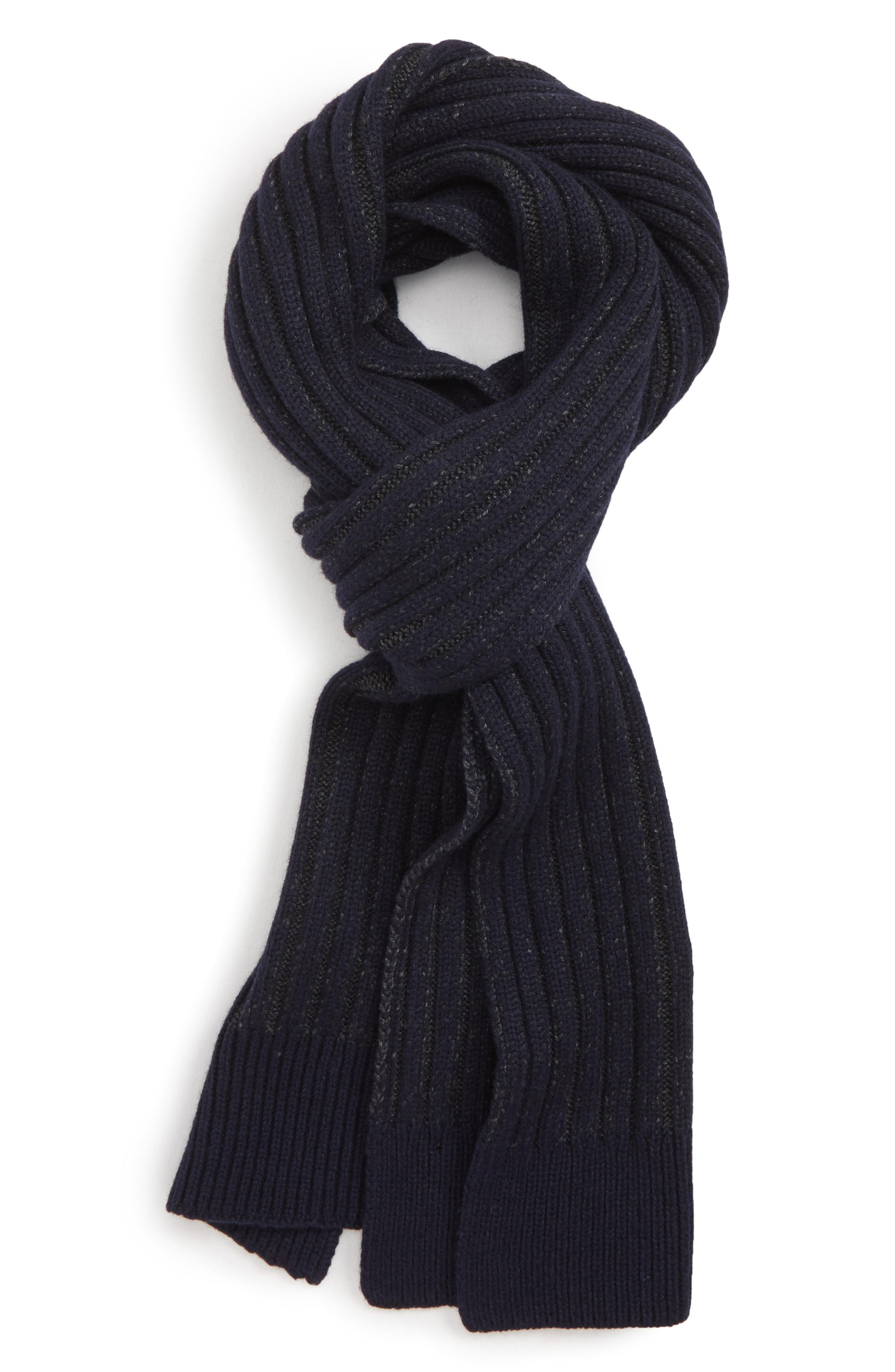 875a897bc702 Lyst - Ted Baker Plaited Chunky Scarf in Blue for Men - Save ...