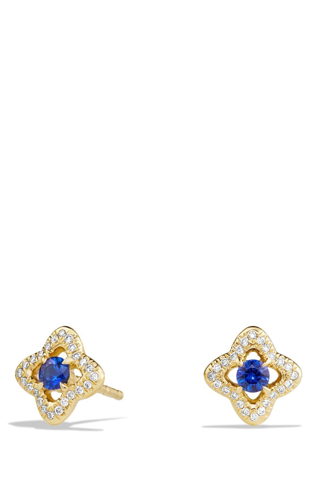 David Yurman Women S Metallic Venetian Quatrefoil Earrings