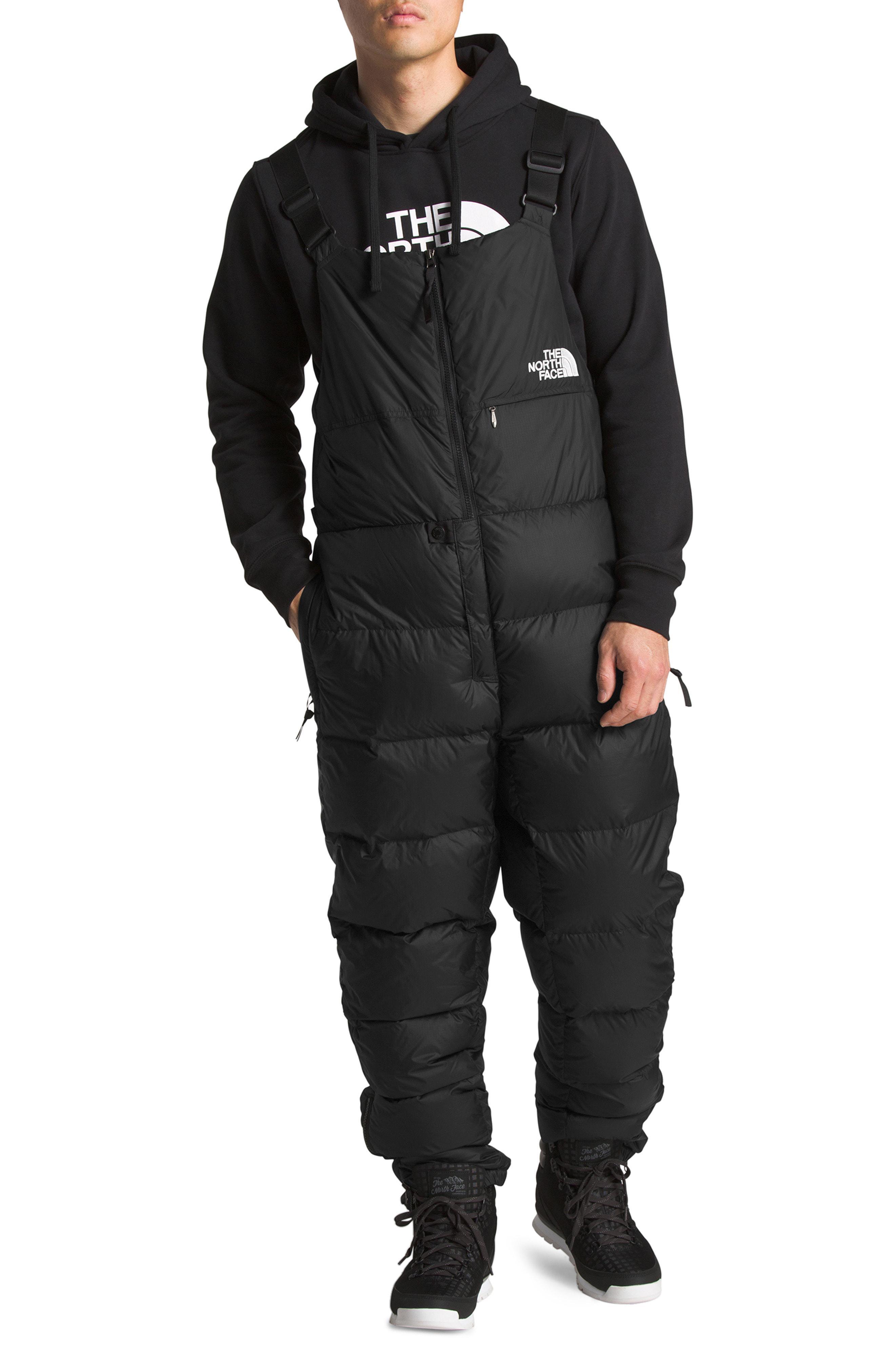 f053026fe5 Lyst - The North Face Nuptse 700 Fill Power Down Snow Bib in Black ...