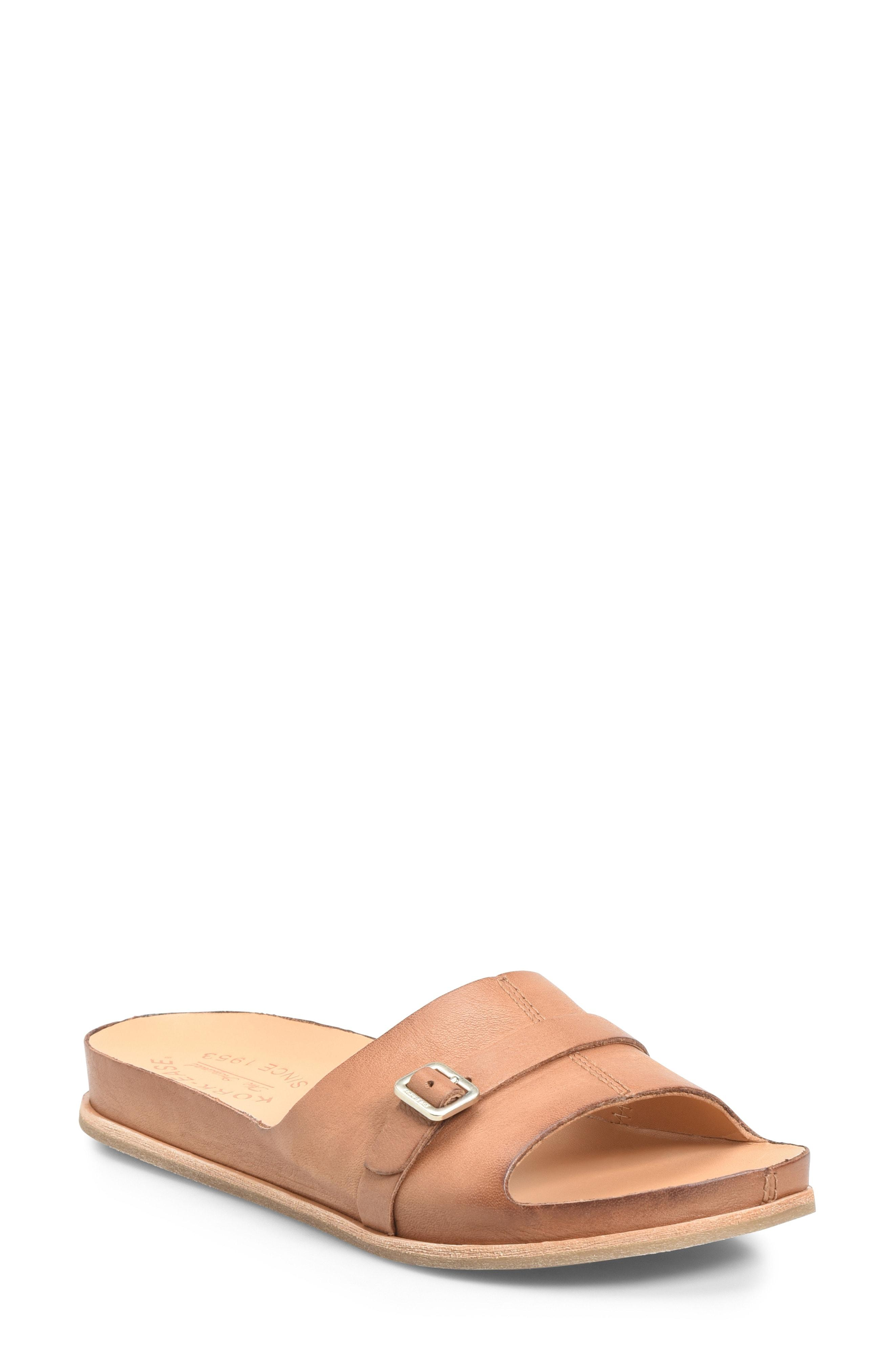 68ab9f329 Lyst - Kork-Ease Kork-ease Downey Slide Sandal in Brown