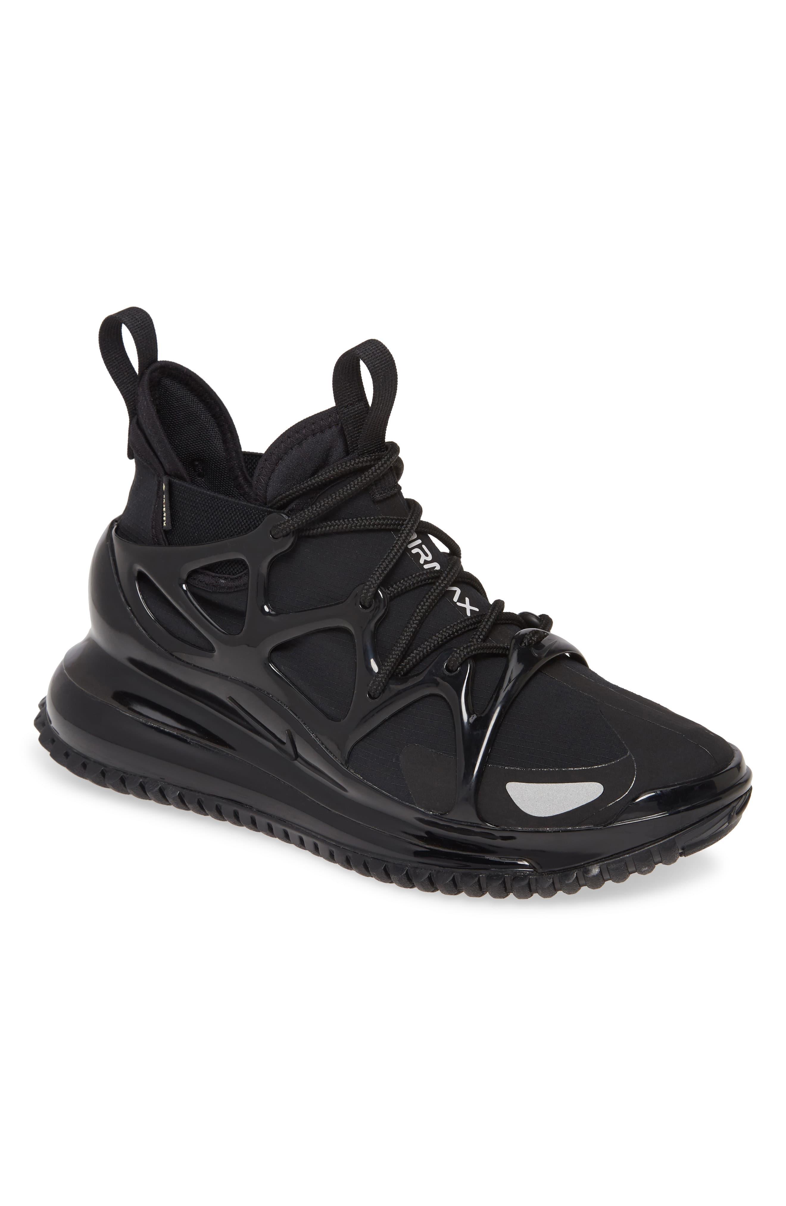 air max 720 on feet black