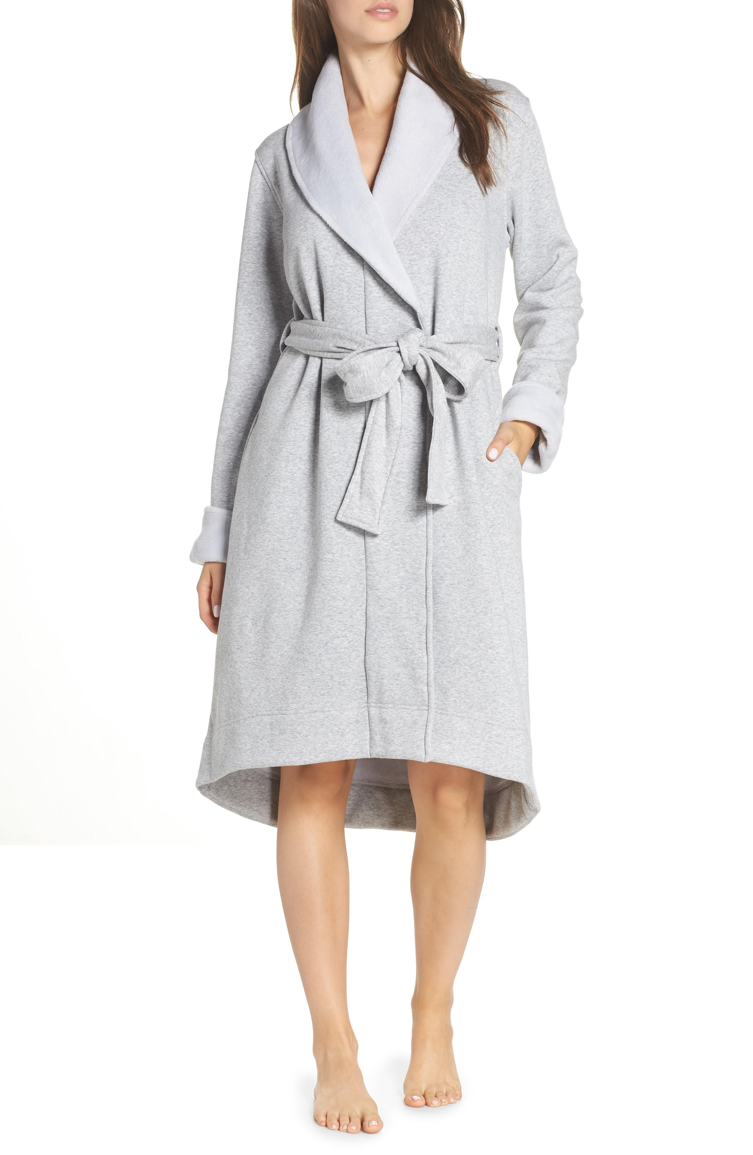 Lyst - Ugg Ugg Duffield Ii Robe in Gray 637a3cd40