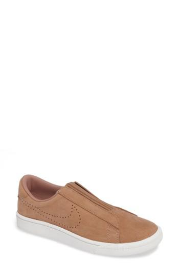 Nike Ez Slip On Tennis Shoe Dusted Clay