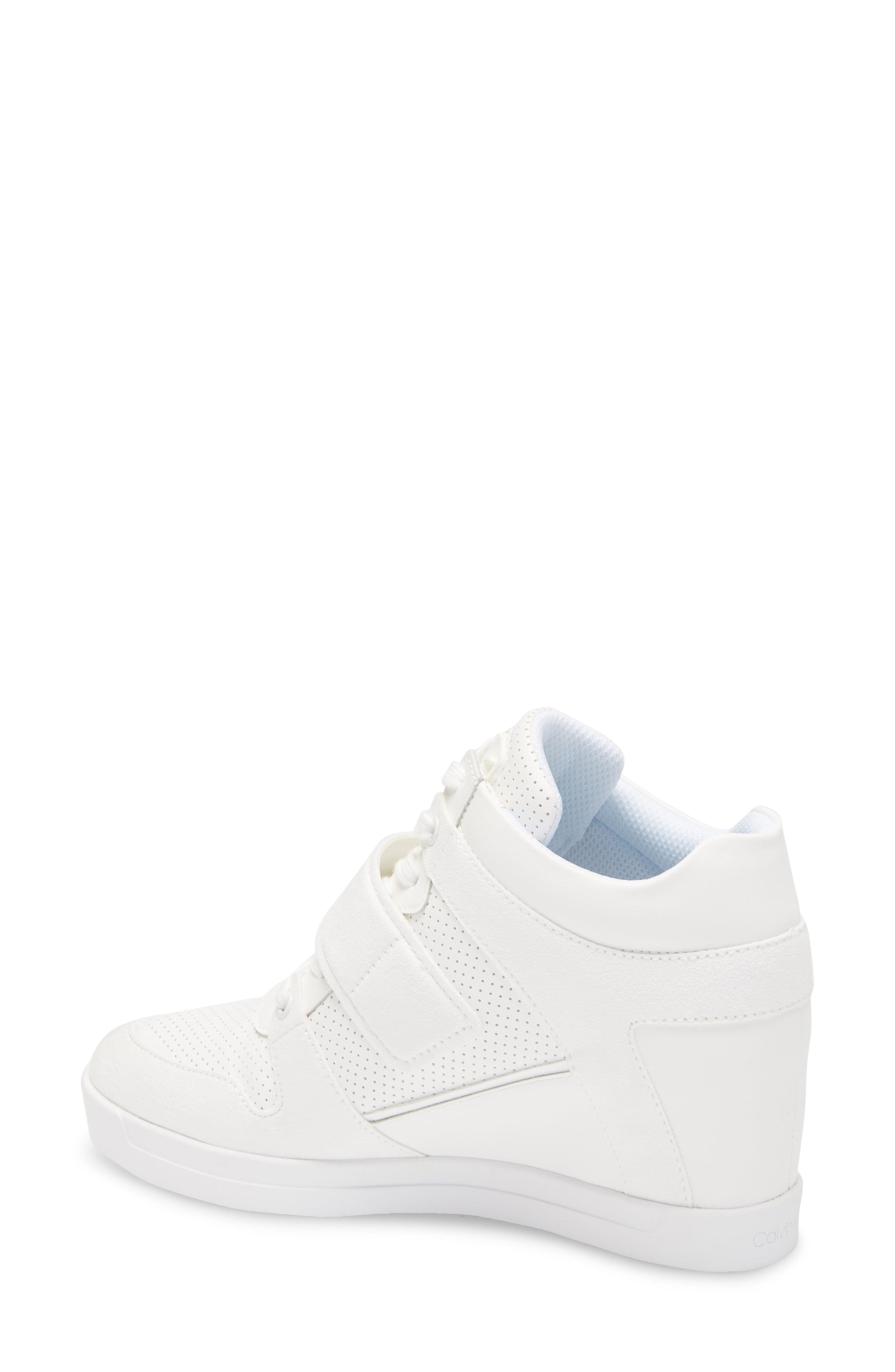 Calvin Klein Frances Wedge Sneaker in