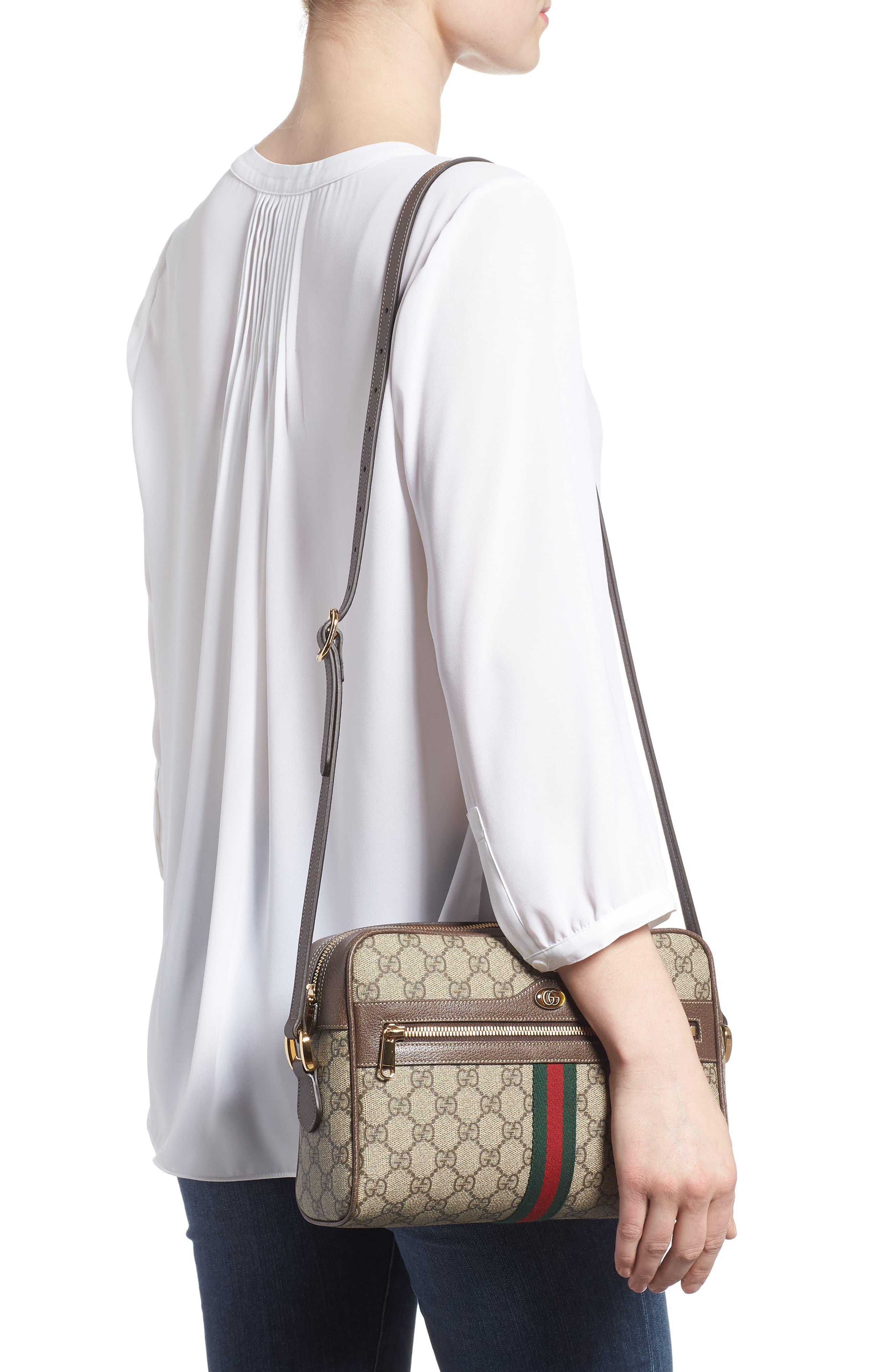 9a75d9e32 Gucci - Multicolor Ophidia Gg Supreme Canvas Crossbody Bag - - Lyst. View  fullscreen