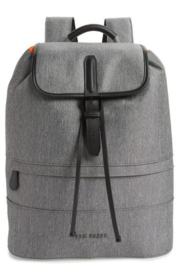 Ted Baker RAYMAN BACKPACK - Tagesrucksack - grey pWbLL1VpSu