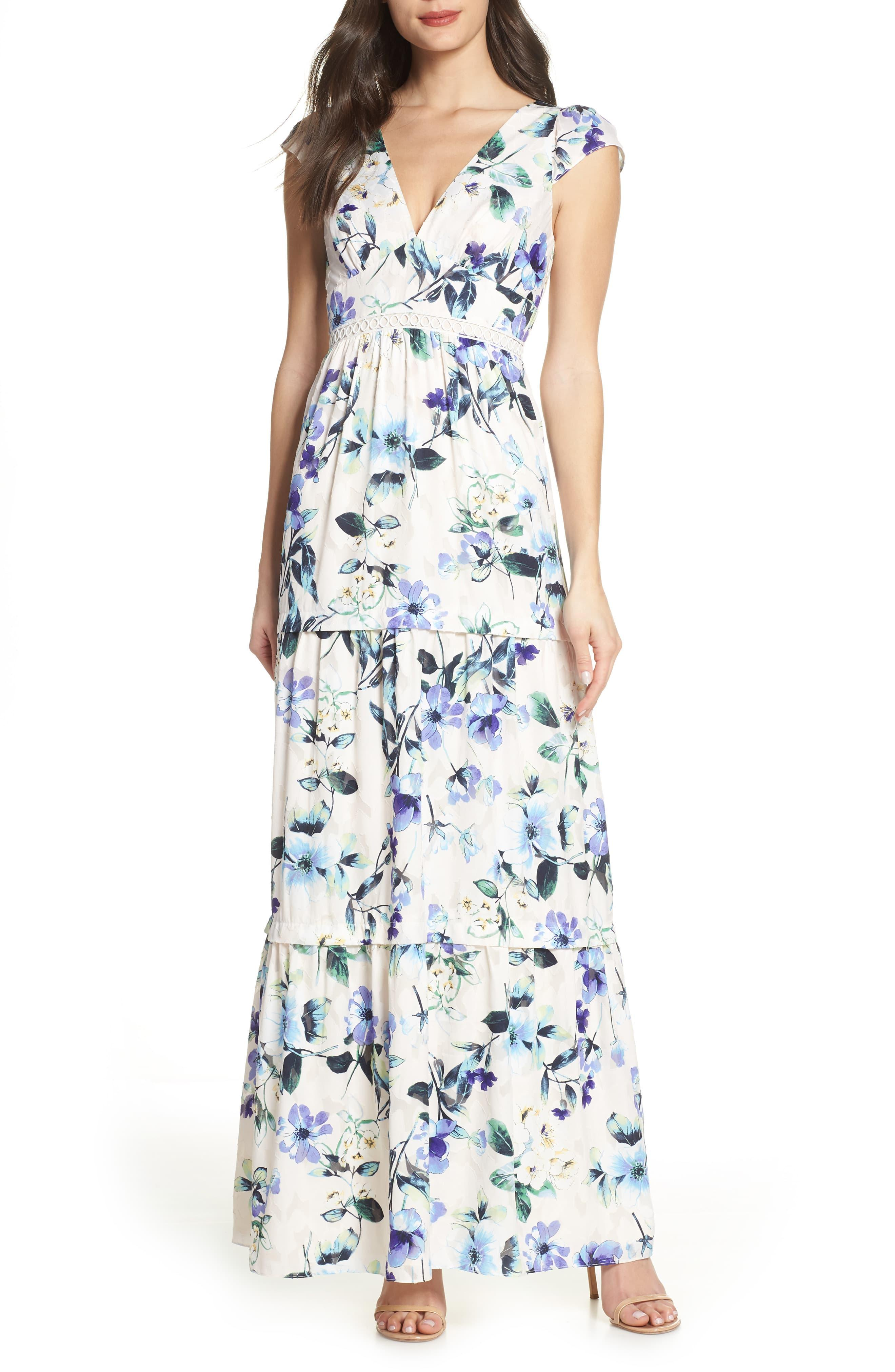 Blue In Lyst Dress Foxiedox Maxi Ressie N0Onmvw8