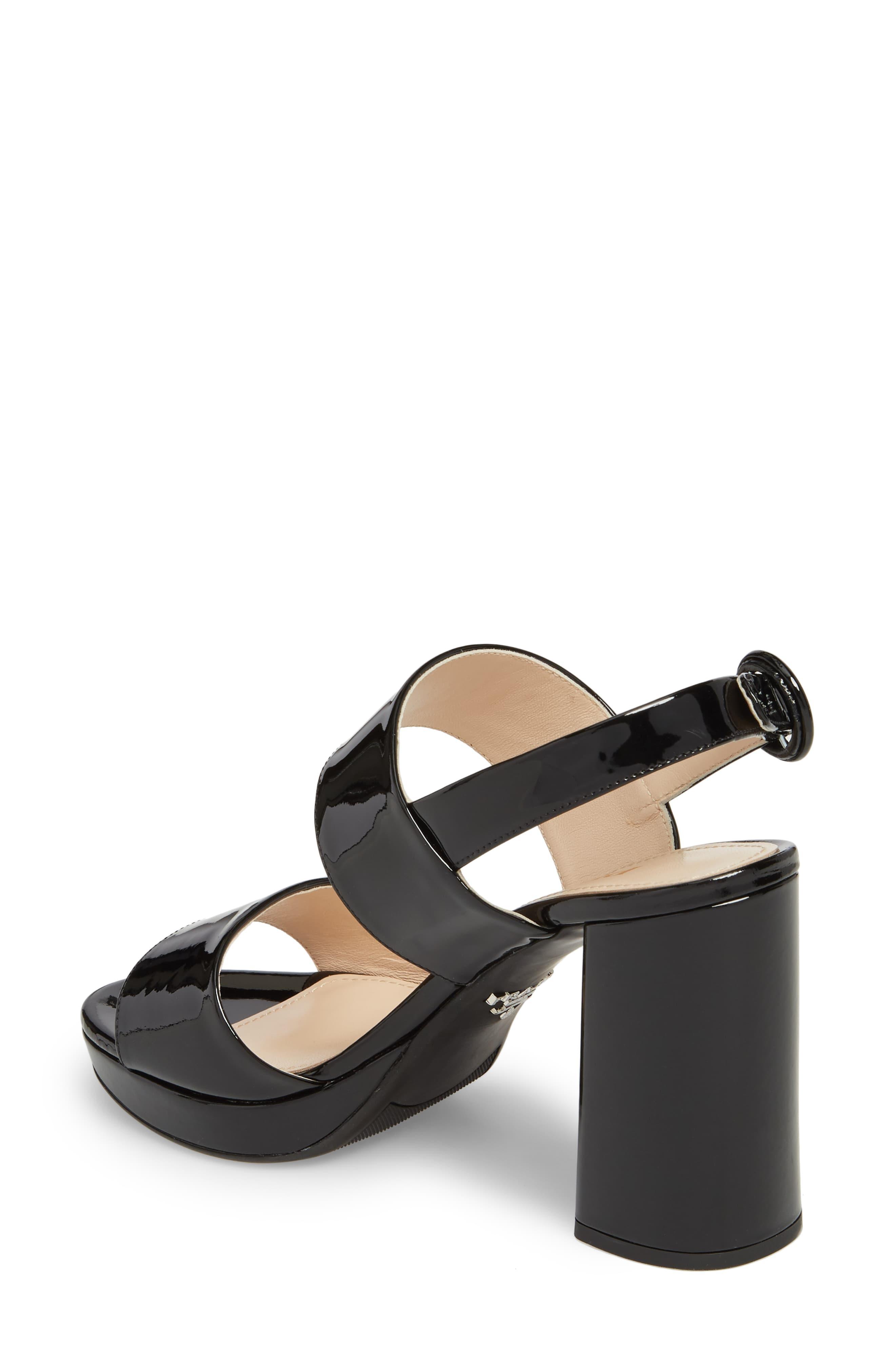 Prada Slingback Platform Sandal in
