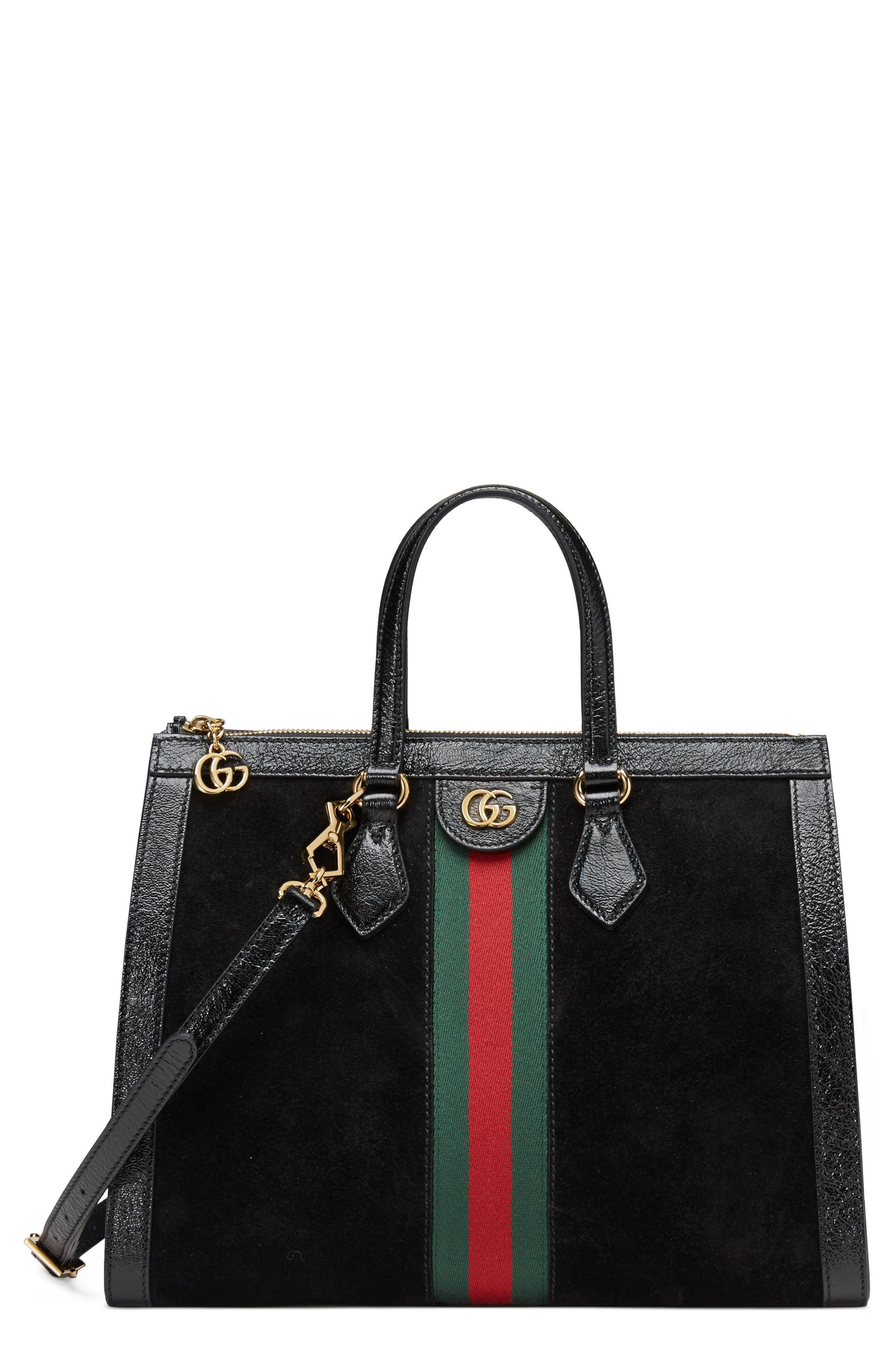 e7cde8667770 Gucci Women's Medium Ophidia Tote - Black in Black - Save 4% - Lyst