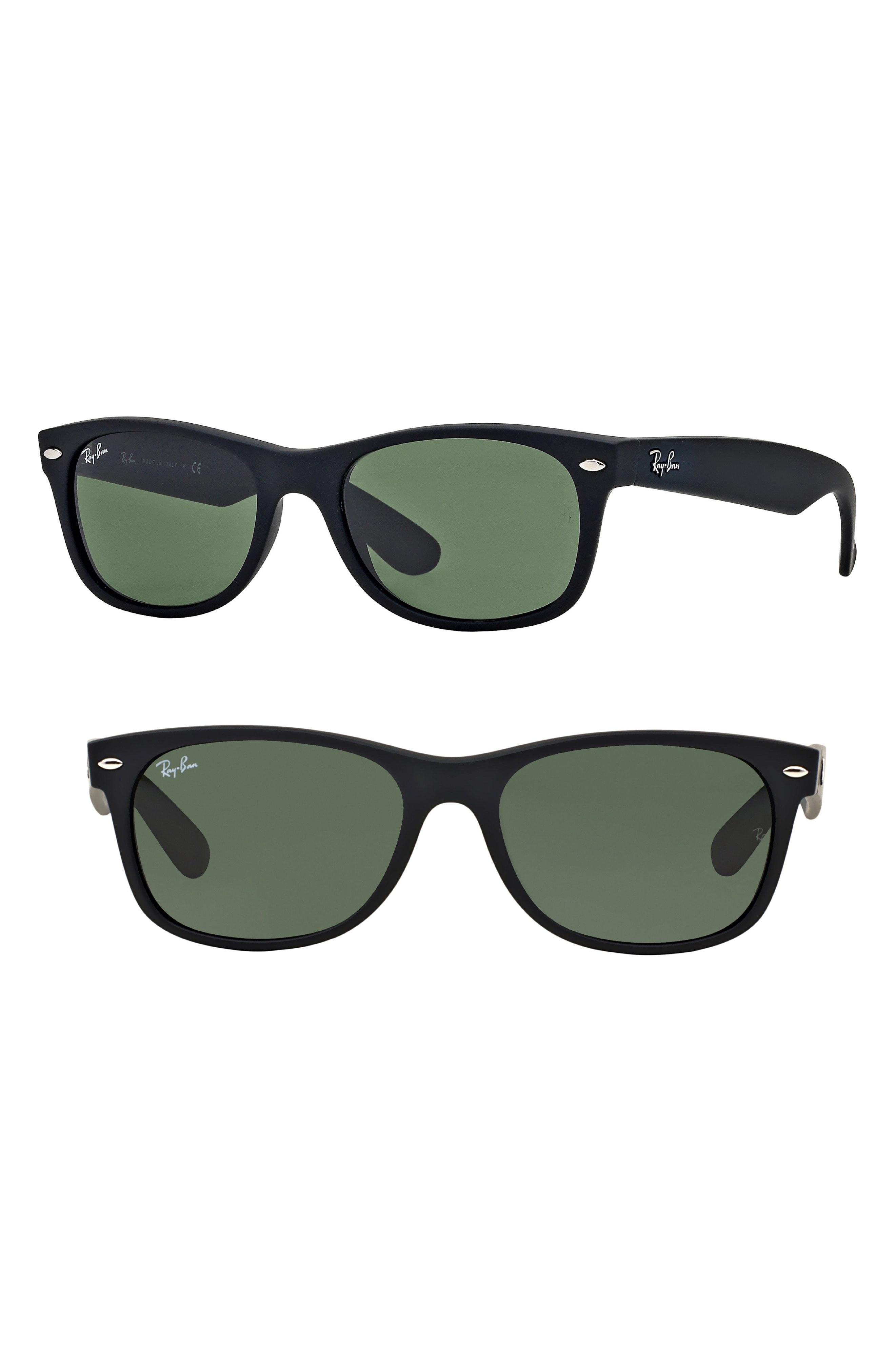 569a853d5d Lyst - Ray-Ban Standard New Wayfarer 55mm Sunglasses in Black