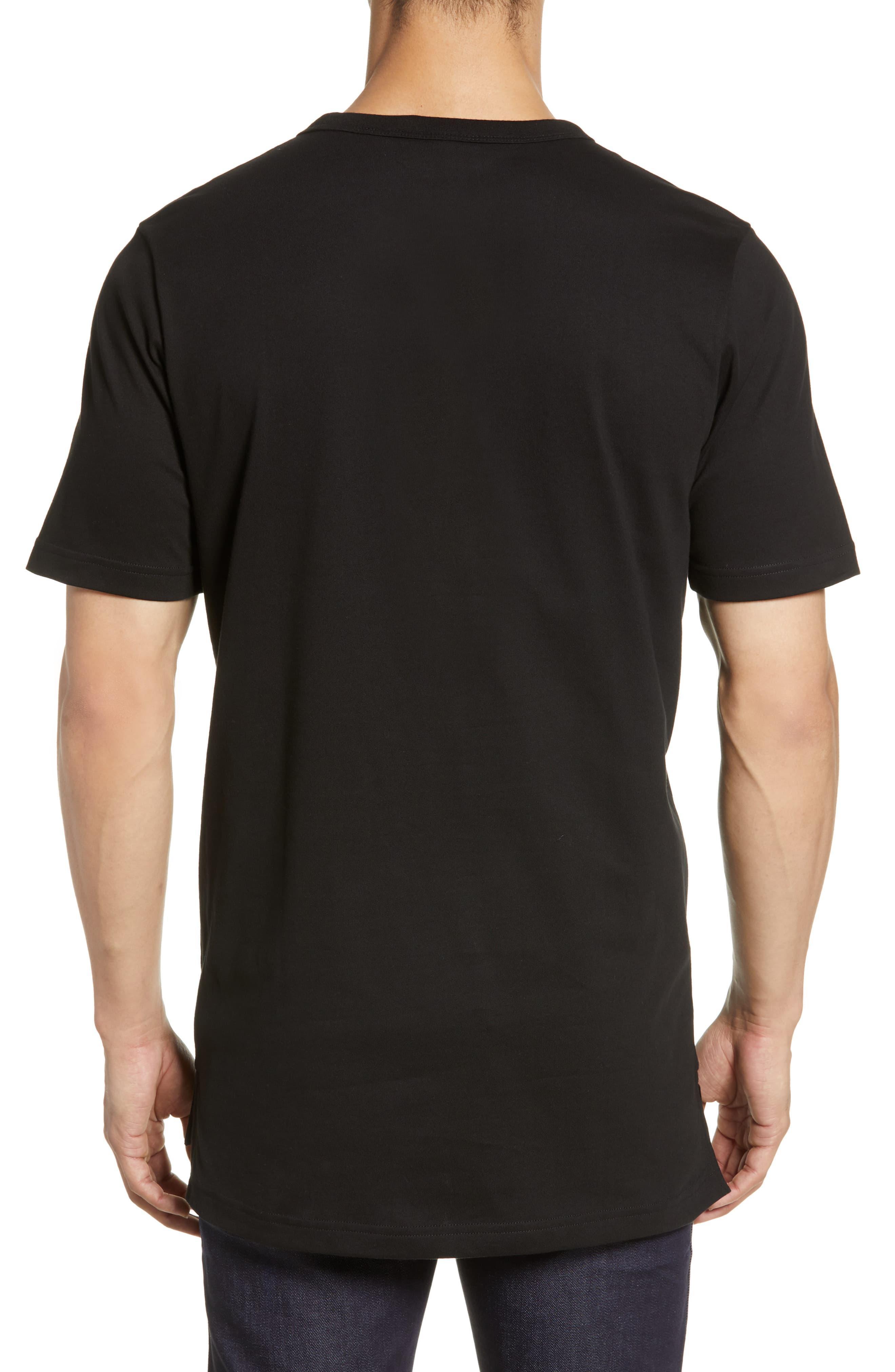 4388e00a Lacoste - Black Premium Transfer Logo T-shirt for Men - Lyst. View  fullscreen