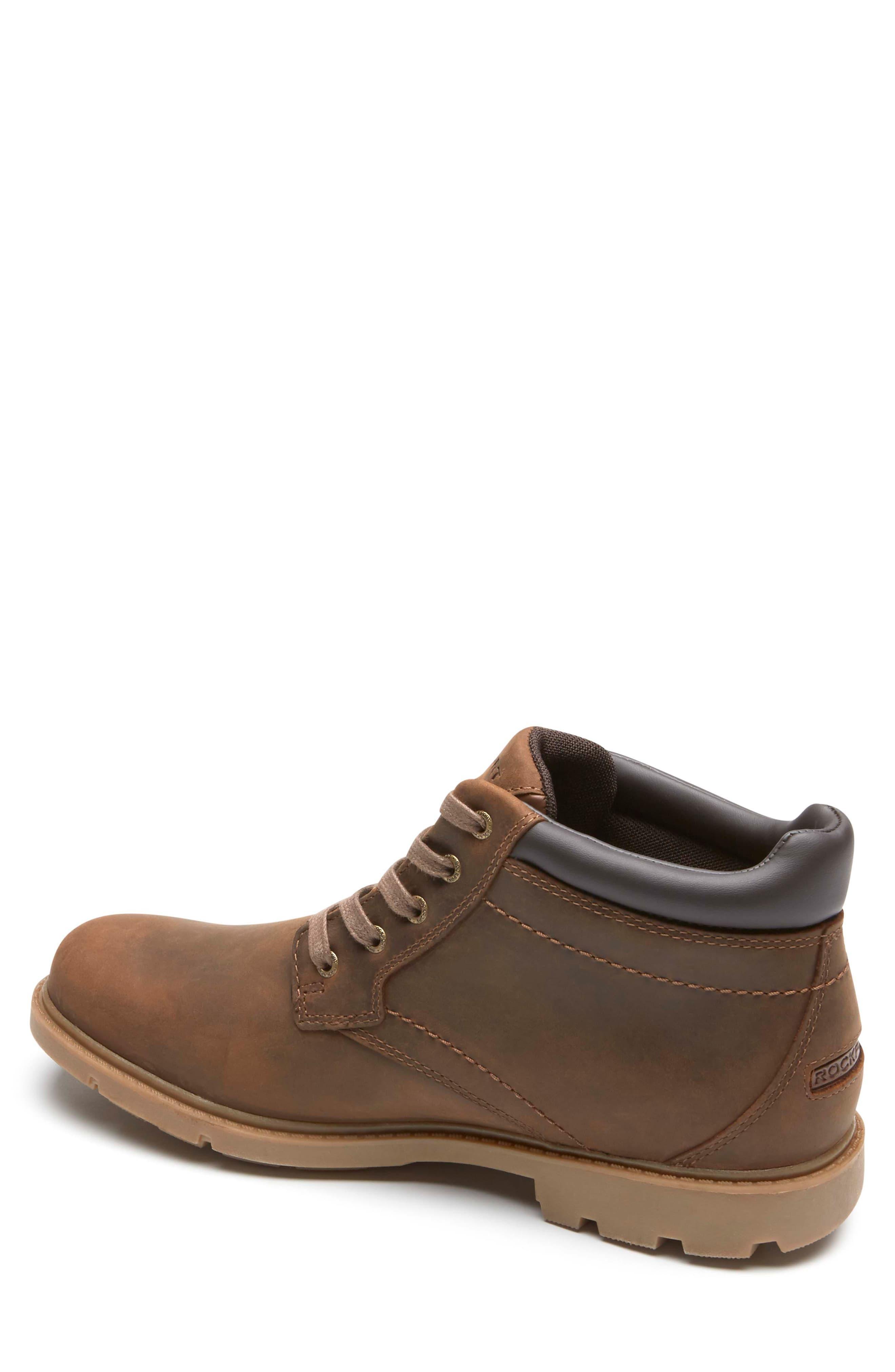 d5a6bdc51b7 Rockport Brown Boston Waterproof Boot for men