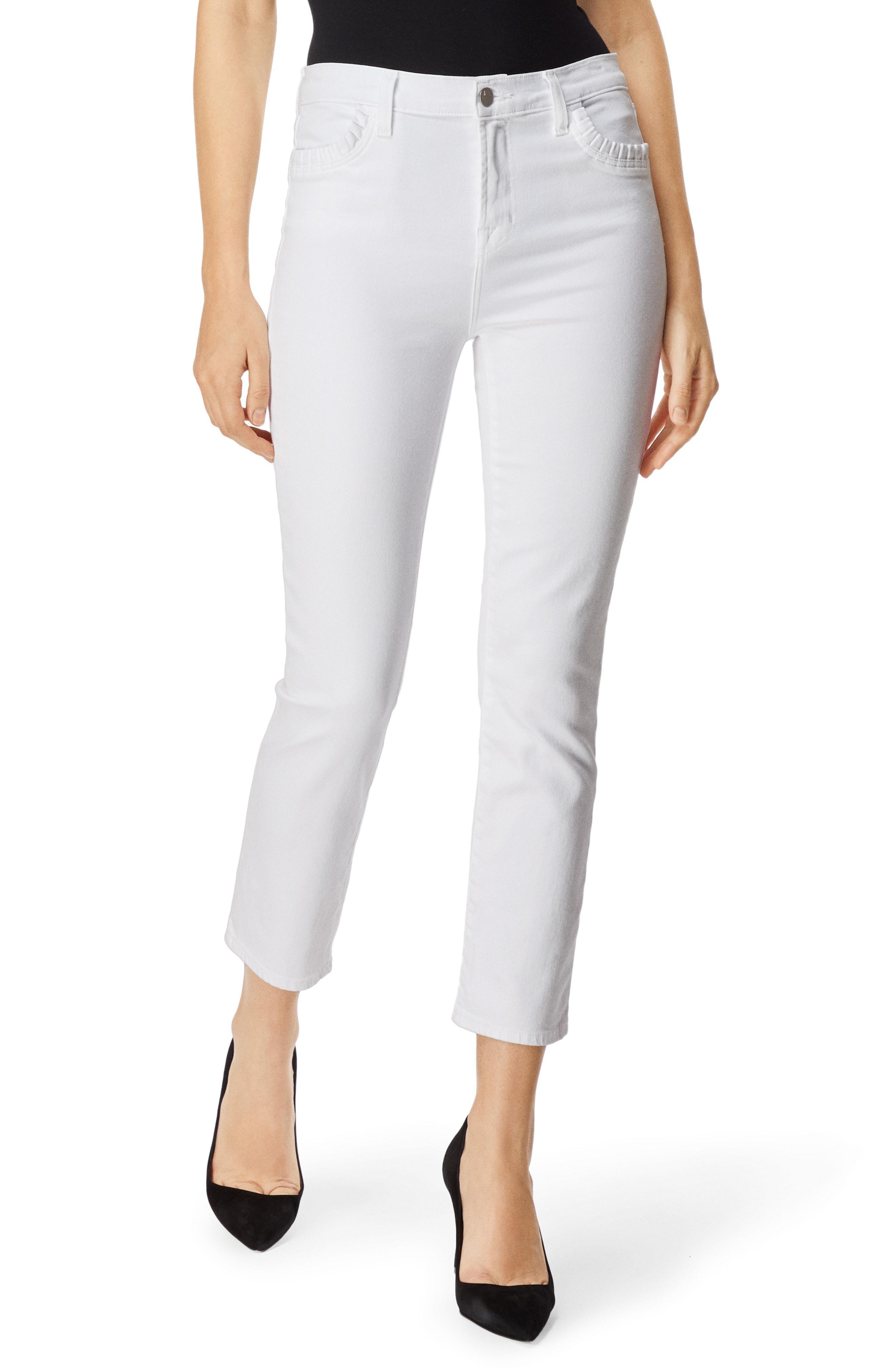 2dc73089ace9 J Brand. Women s Ruby High Waist Crop Cigarette Jeans