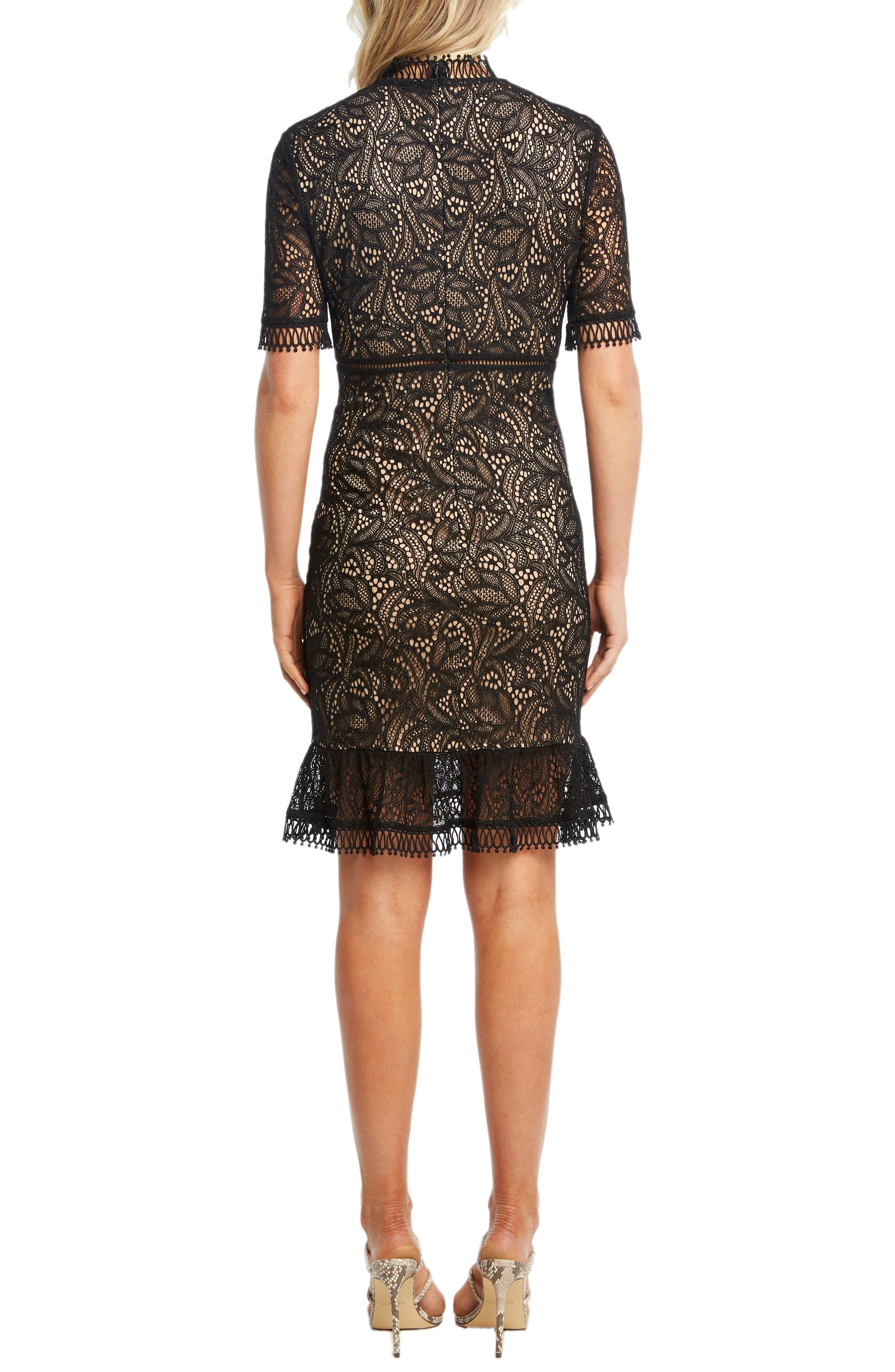 Theodora Lace Sheath Dress