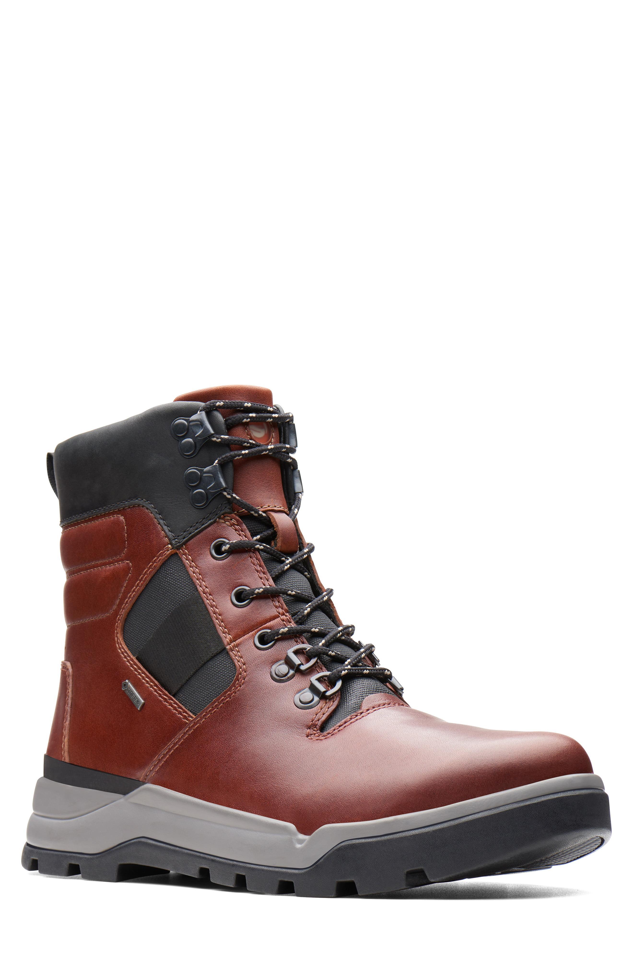 Atlas Higtx in Dark Tan Leather