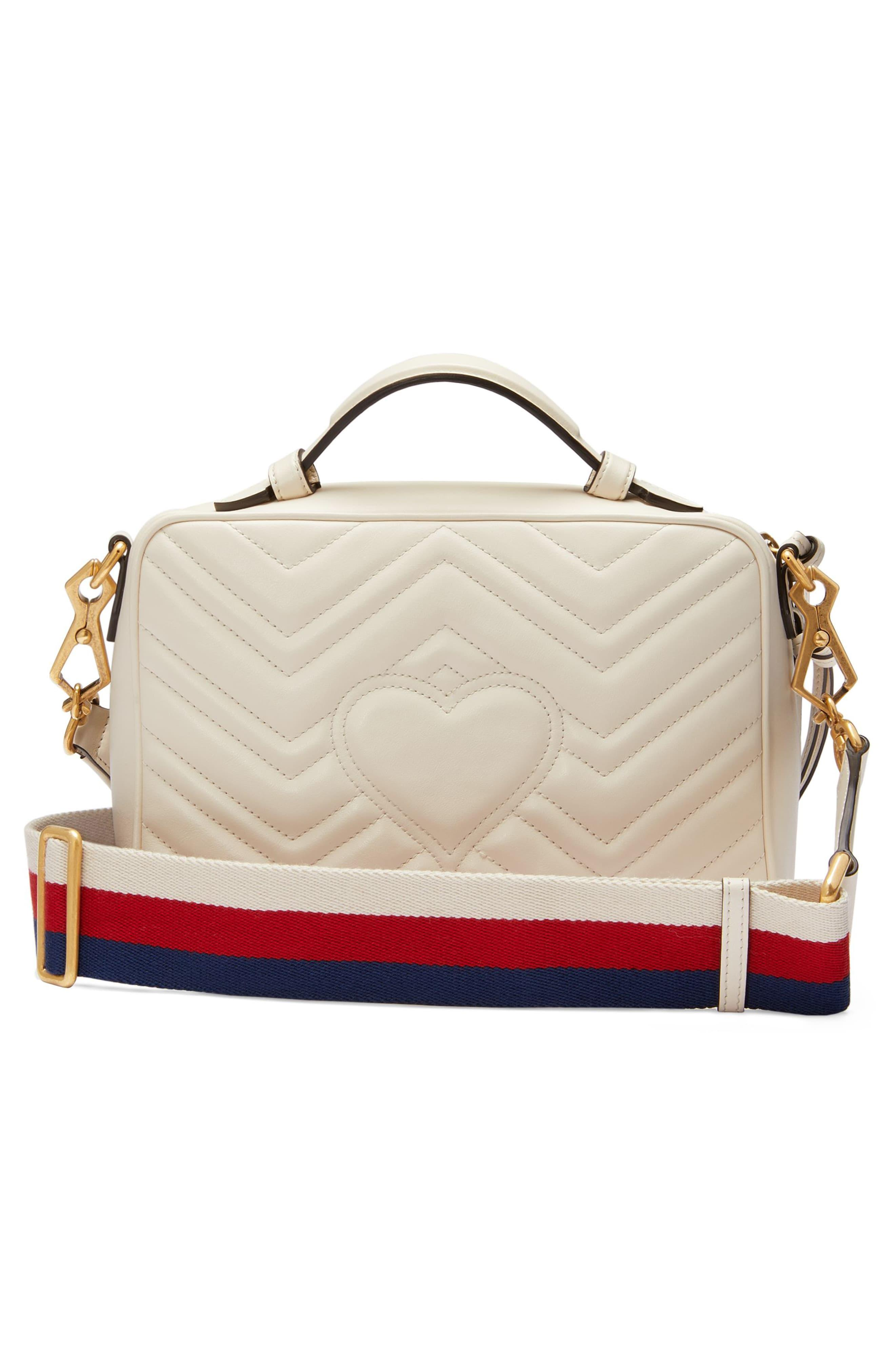 b278971271fbbb Gucci - Multicolor Small Gg Marmont 2.0 Matelassé Leather Camera Bag With  Webbed Strap - Lyst. View fullscreen