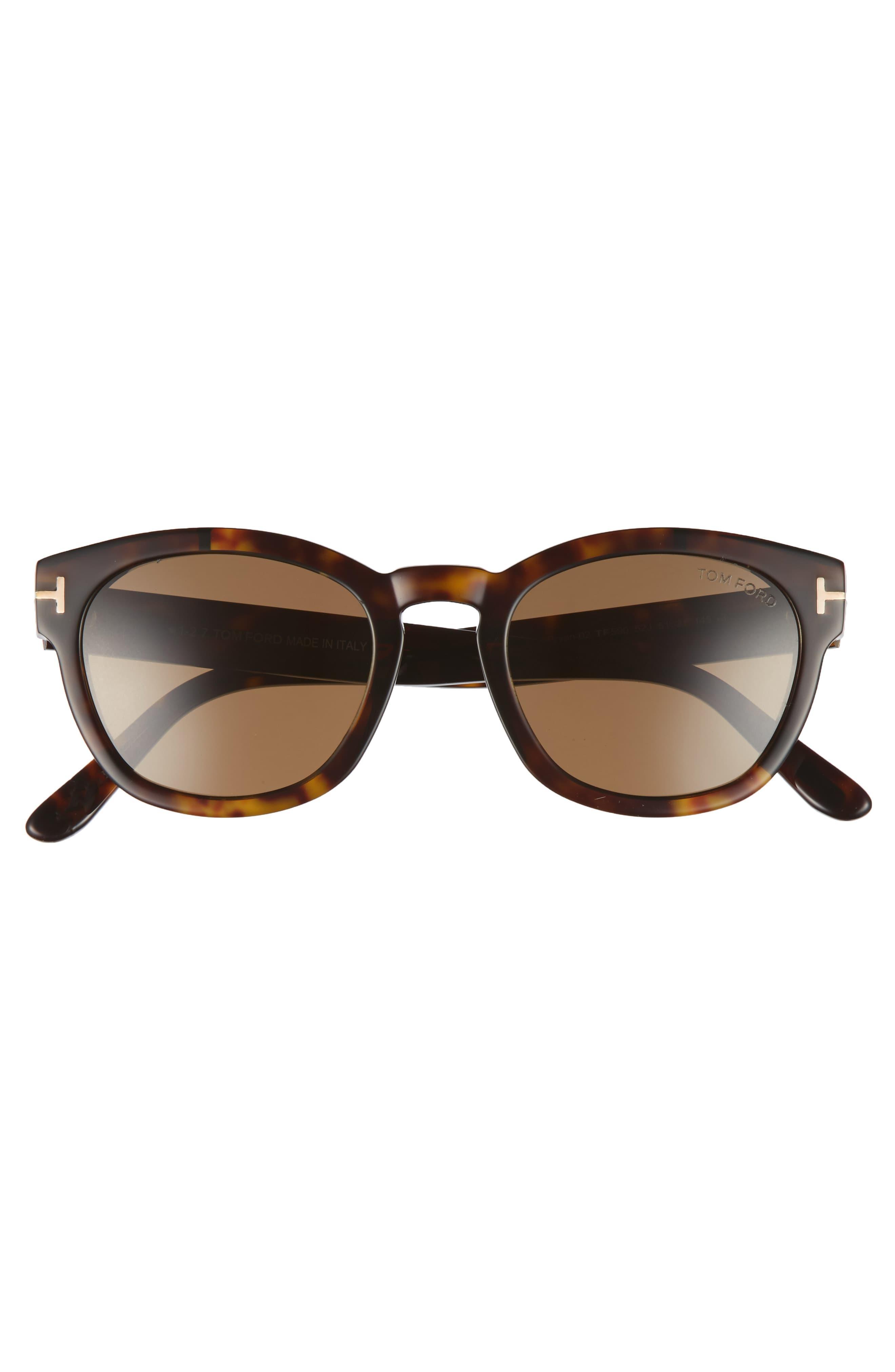 a850e2a5db Tom Ford - Brown Bryan 51mm Sunglasses - Dark Havana  Roviex for Men - Lyst.  View fullscreen