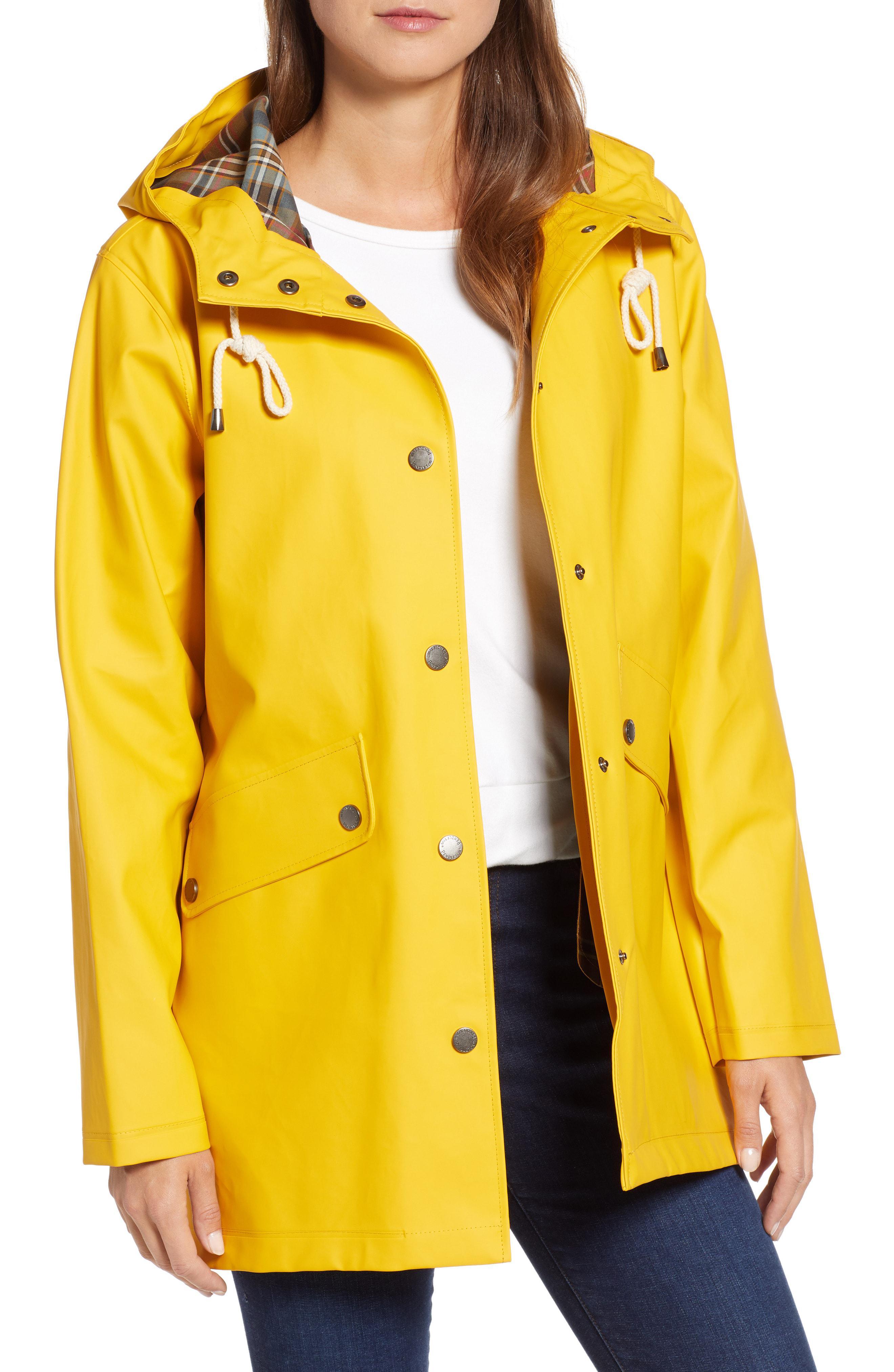 Pendleton Winslow Rain Jacket In Yellow Lyst