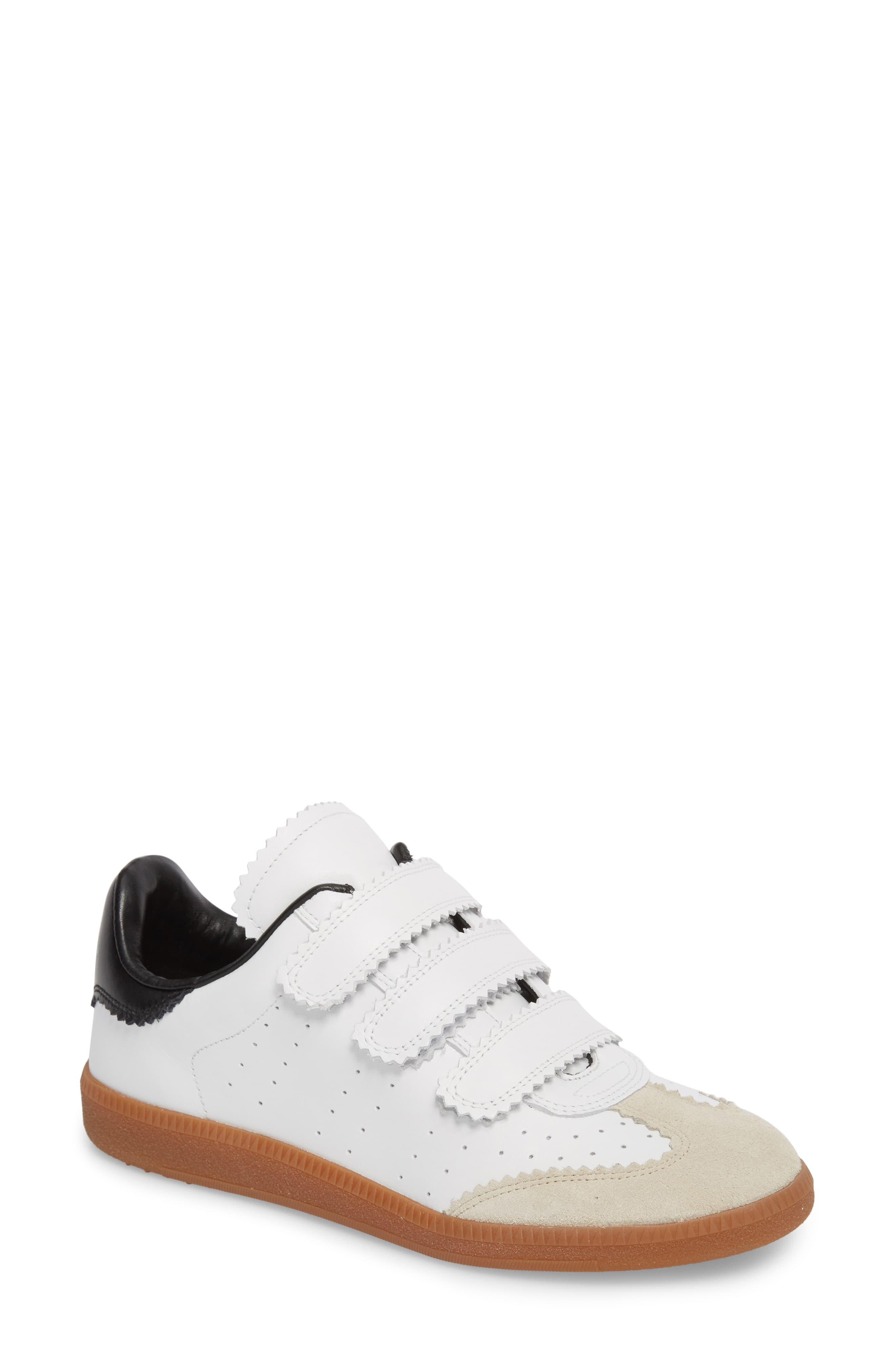 45e3adf55e Étoile Isabel Marant Isabel Marant Beth Low Top Sneaker in White - Lyst