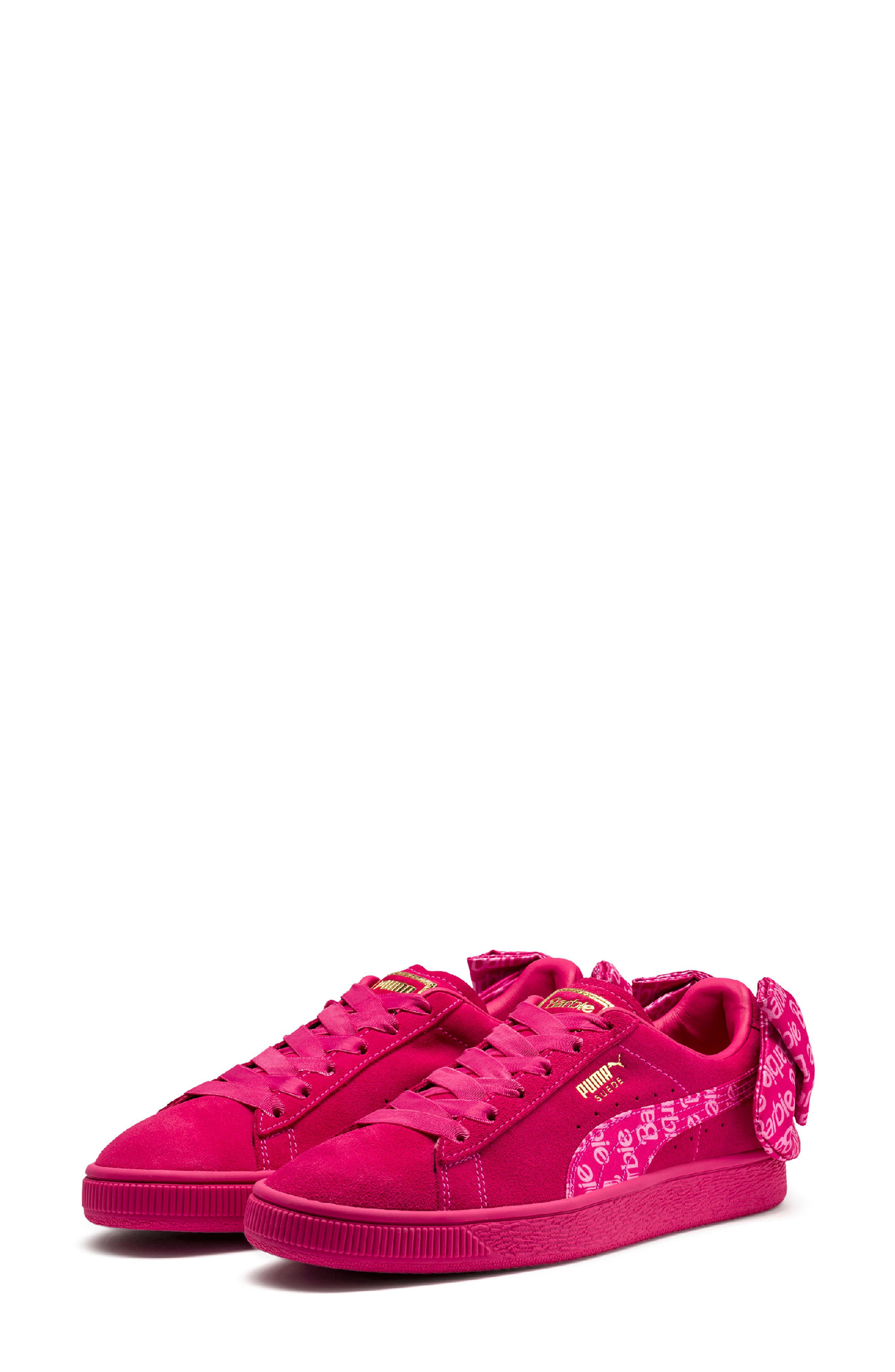 puma x barbie sneakers
