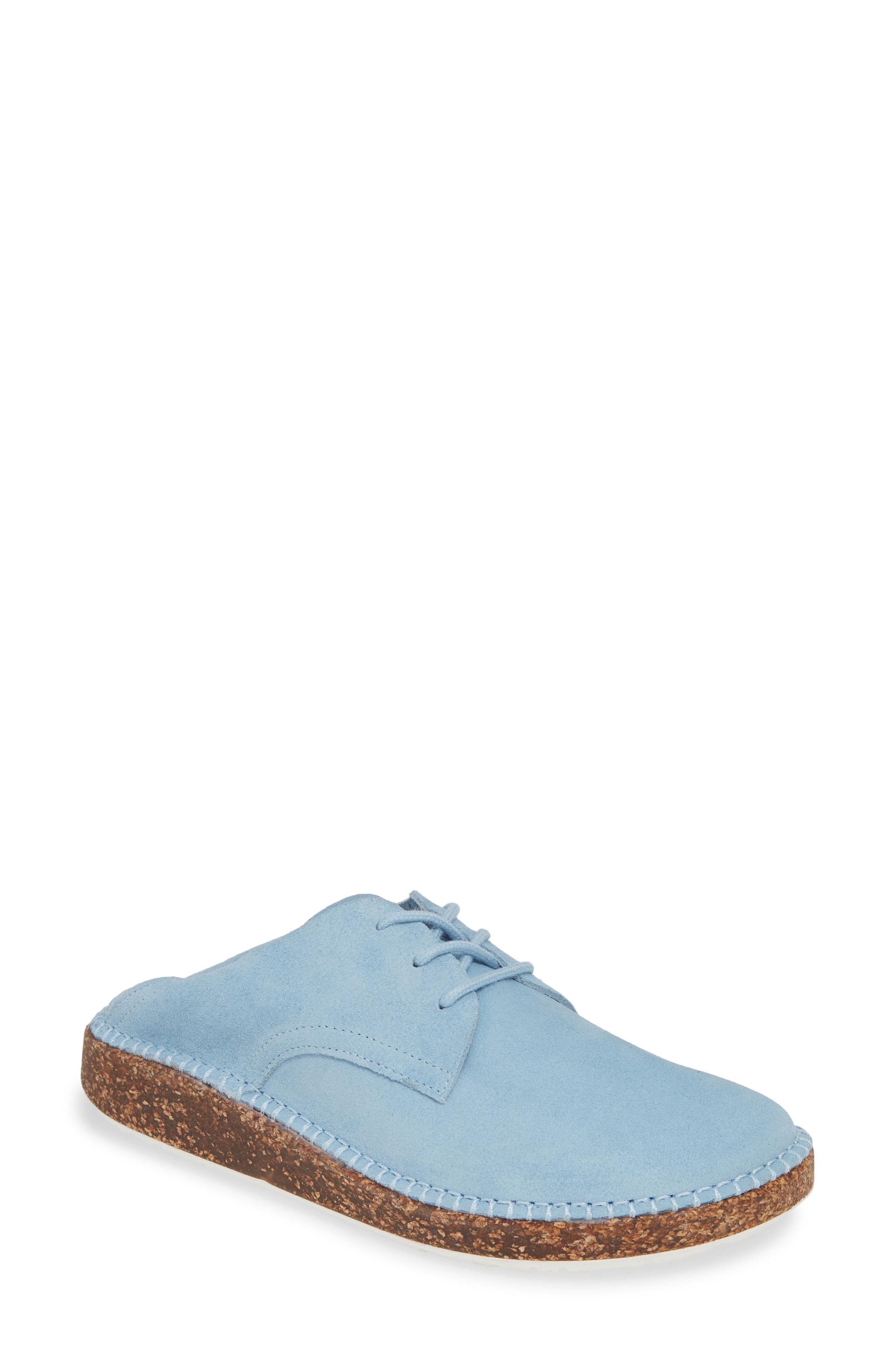 507a7188fa87 Lyst - Birkenstock Gary Convertible Derby in Blue