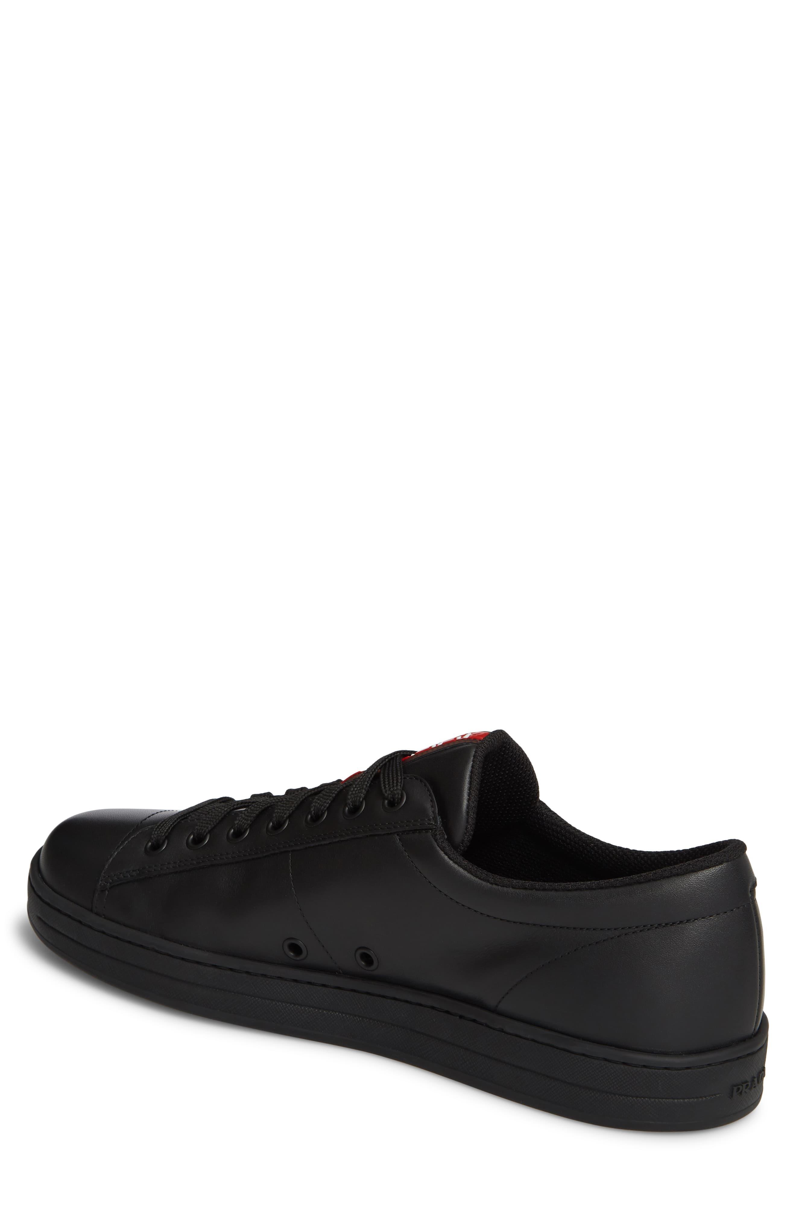 Prada Leather The Avenue Sneaker in