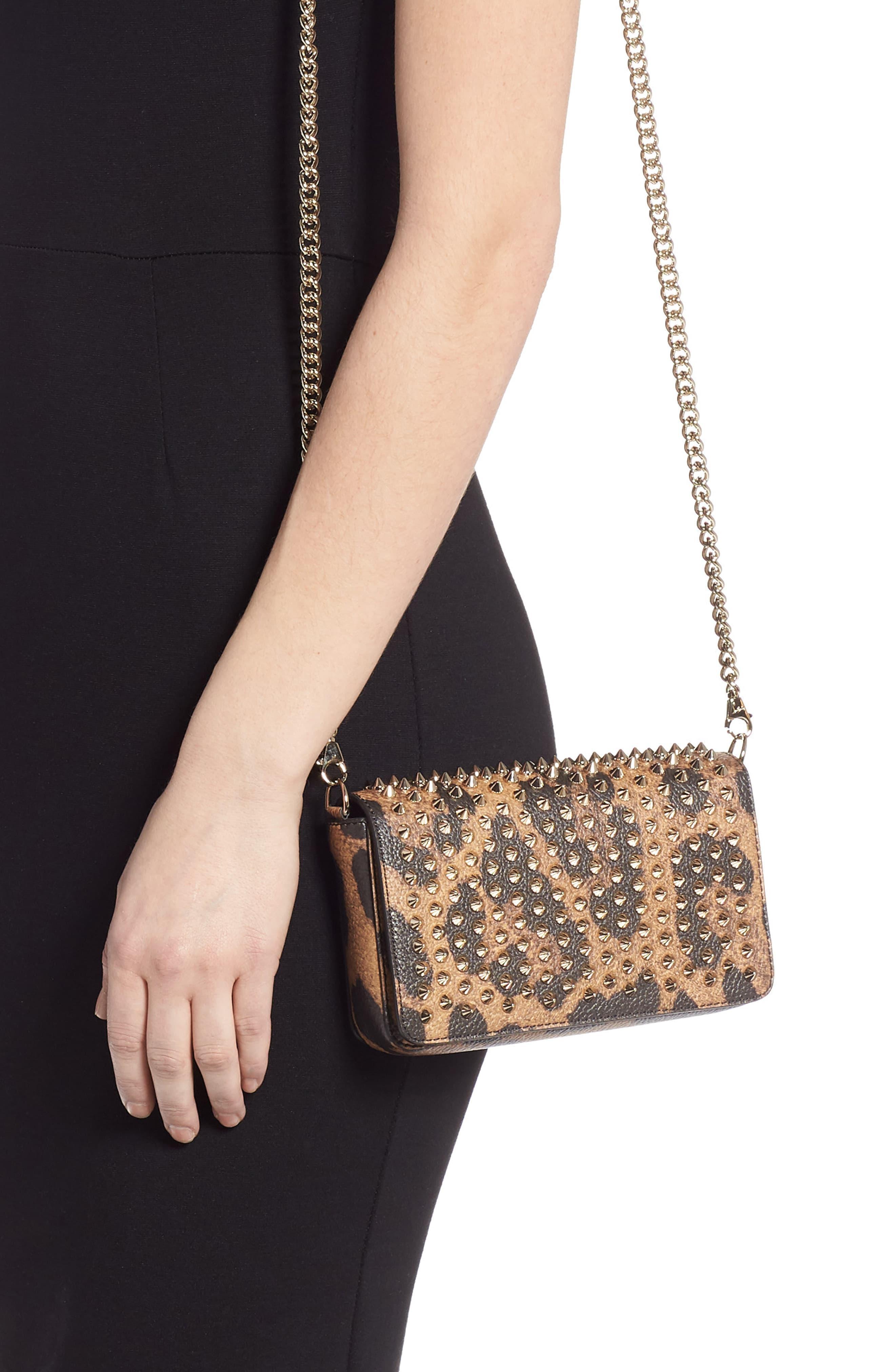 6ca2cc36966 Women's Zoompouch Leopard Print Leather Clutch