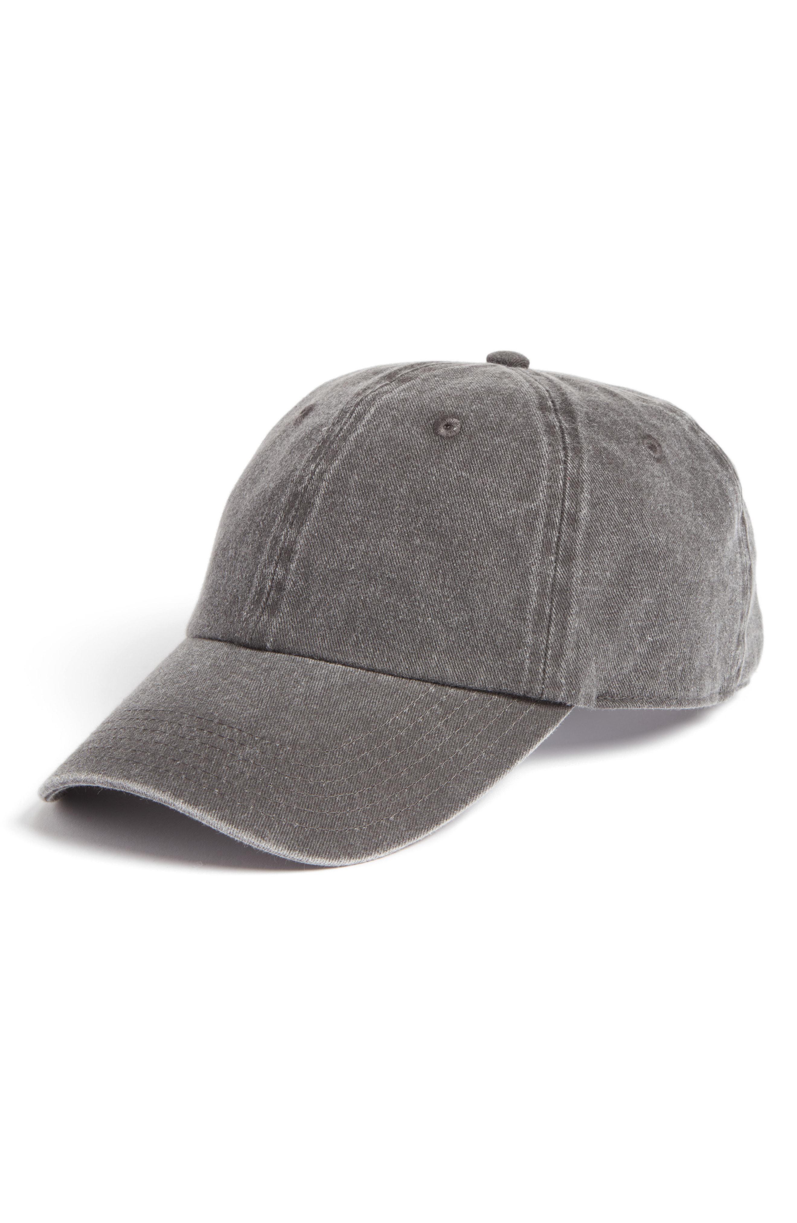 Lyst - Treasure   Bond Canvas Baseball Cap - in Gray b17156ebda6e