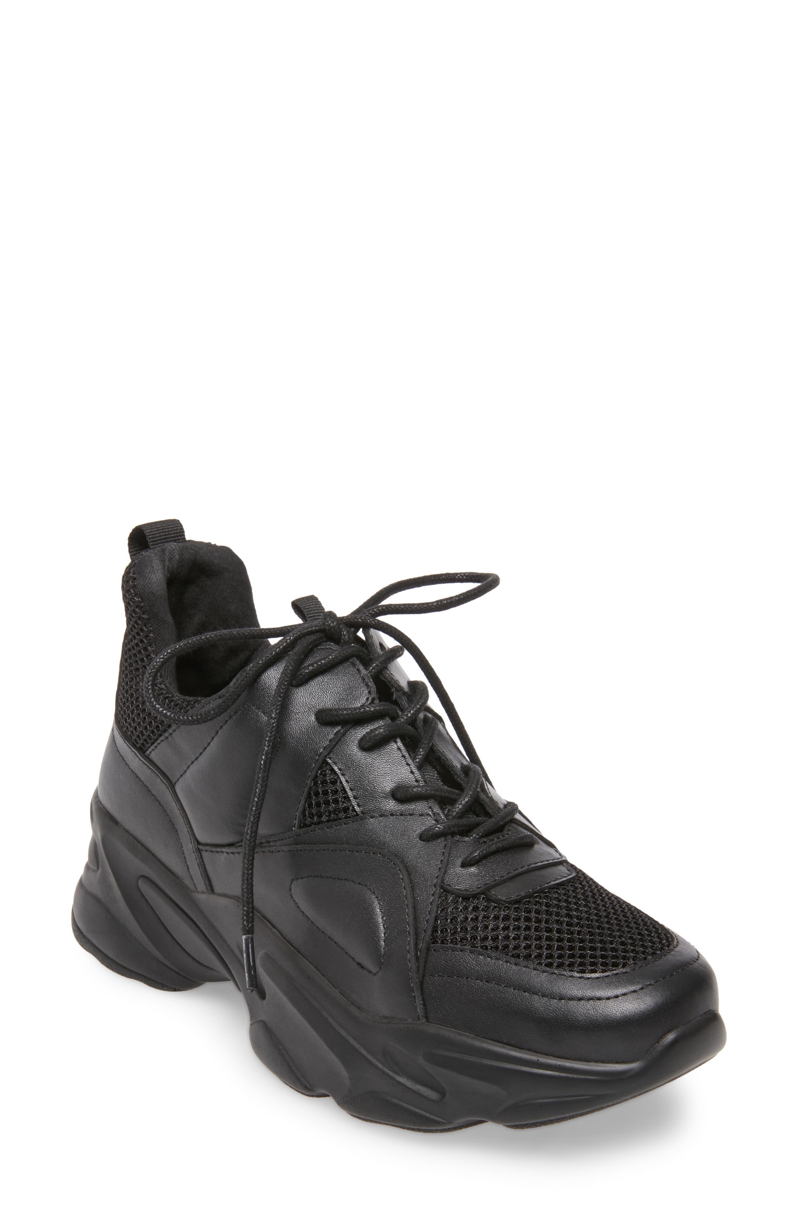 Steve Madden Movement Sneaker in Black