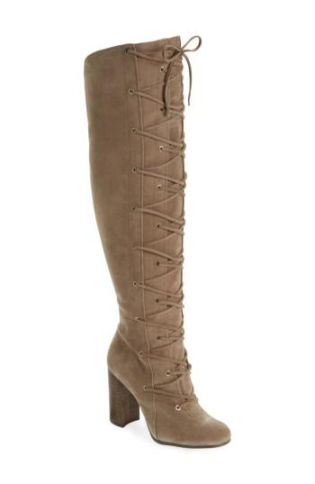 0b6057a7a20 Lyst - Vince Camuto Thanta Over The Knee Boot in Brown
