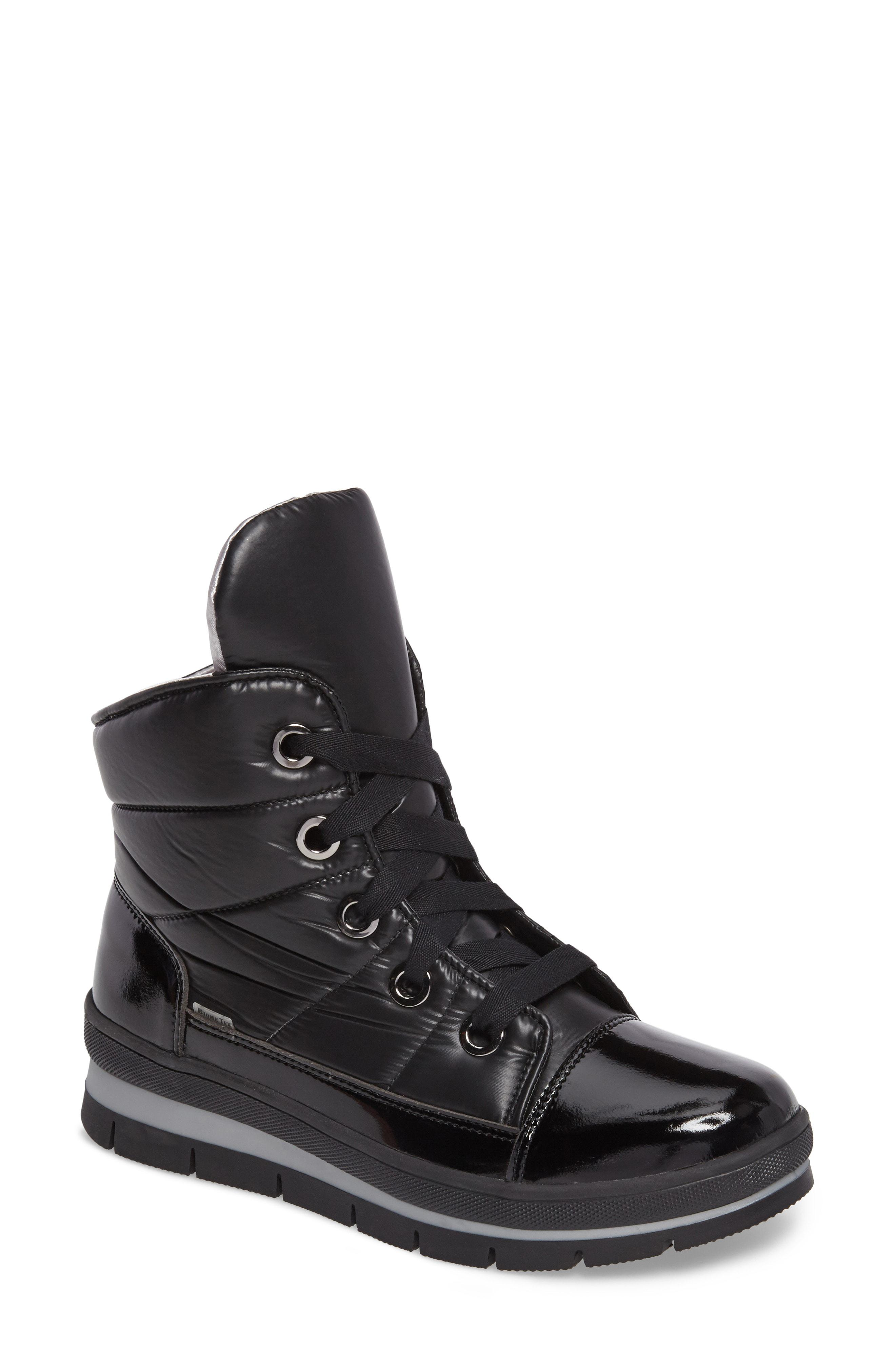 Lyst - Jog Dog Snowdon Waterproof Quilted Sneaker Boot in Black d51d76b64