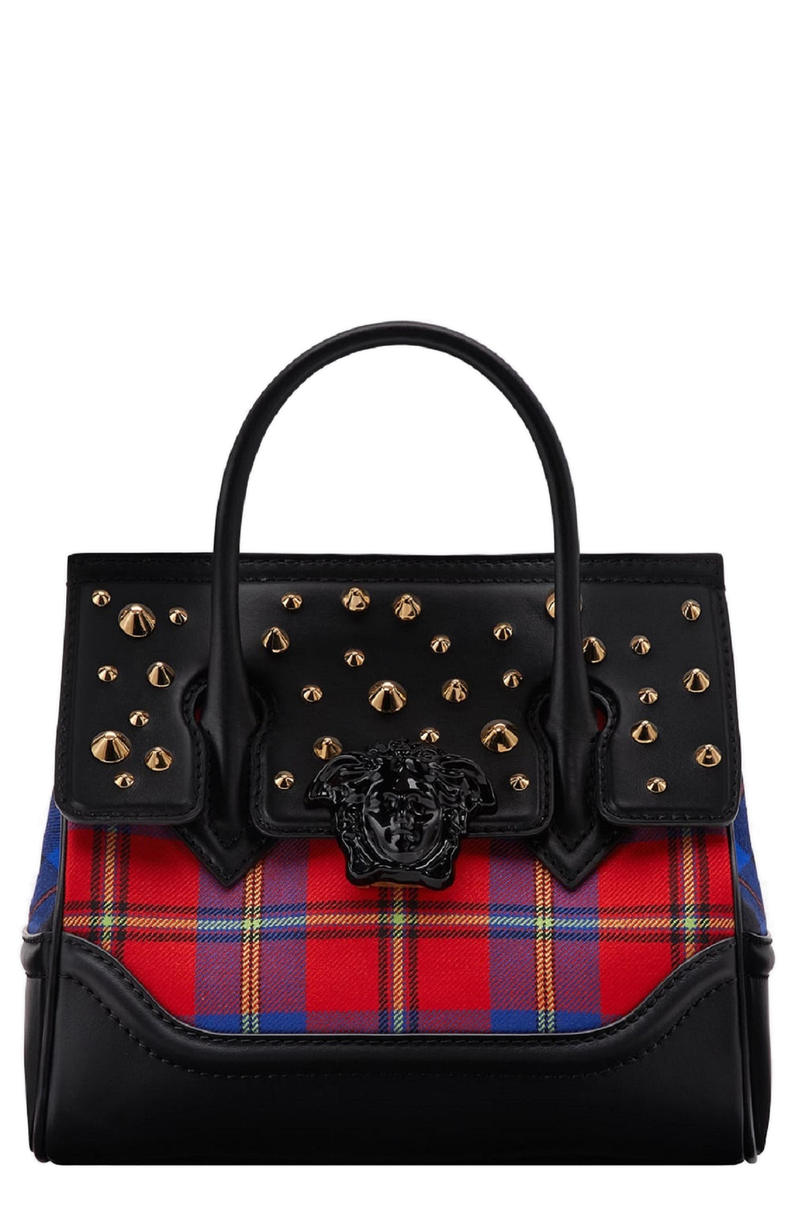 690e1b3793 Lyst - Versace Medium Clash Palazzo Empire Satchel - in Black