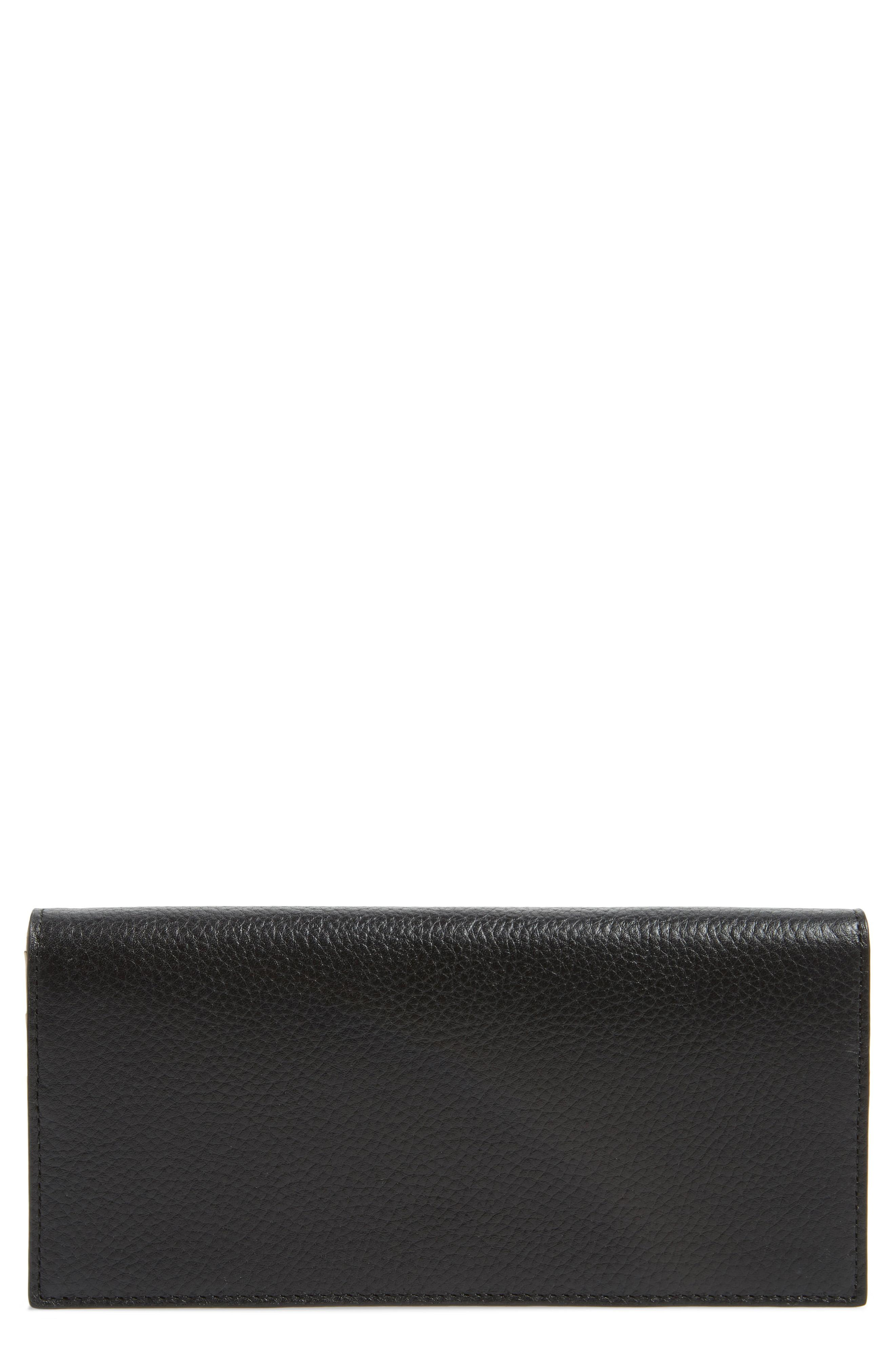dc23a49a6d8819 Lyst - Nordstrom Hunter Leather Continental Wallet in Black