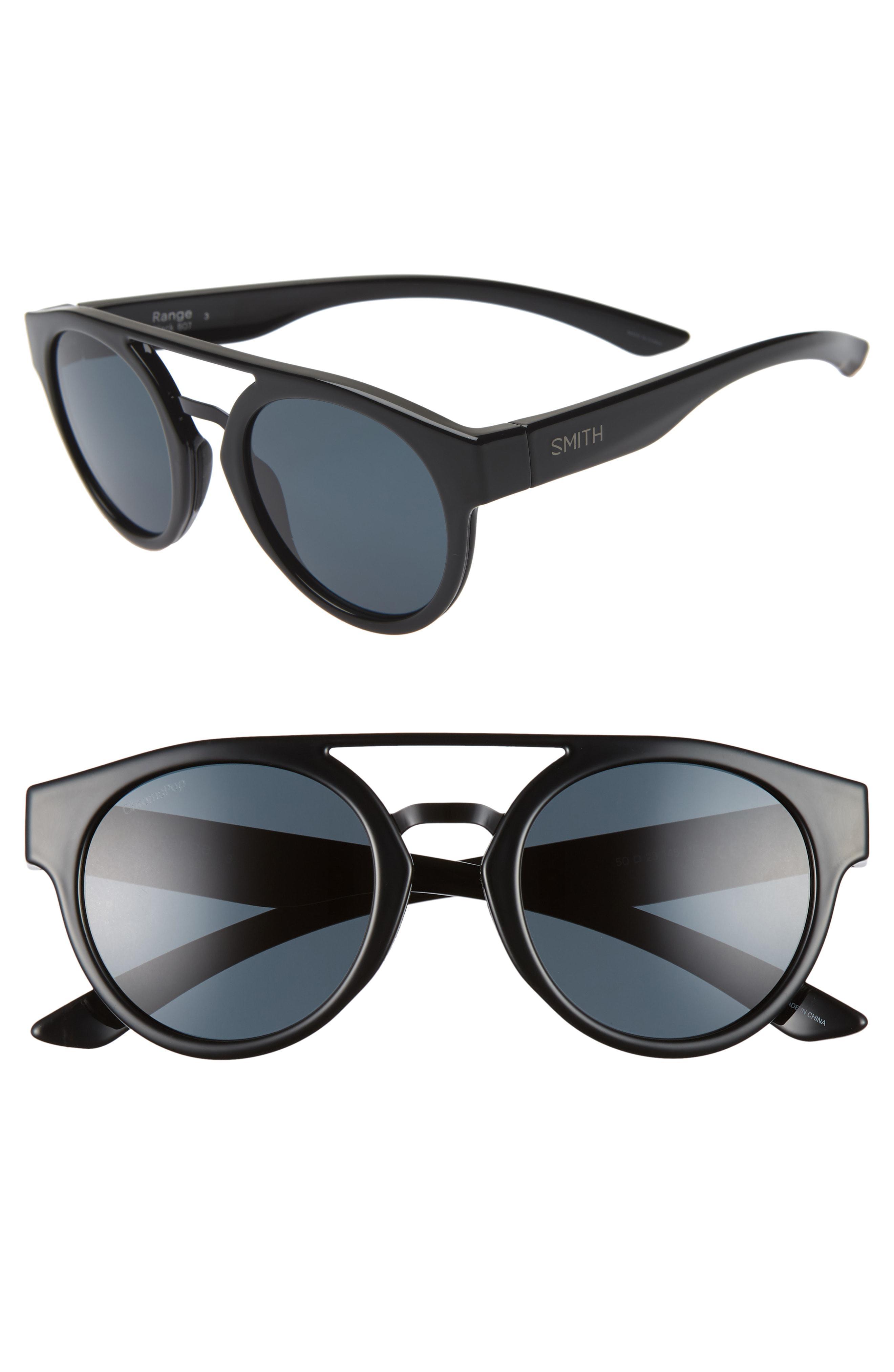 19a81d7da91 Smith - Range 50mm Chromapop(tm) Polarized Sunglasses - Chocolate Tortoise   Blue -. View fullscreen
