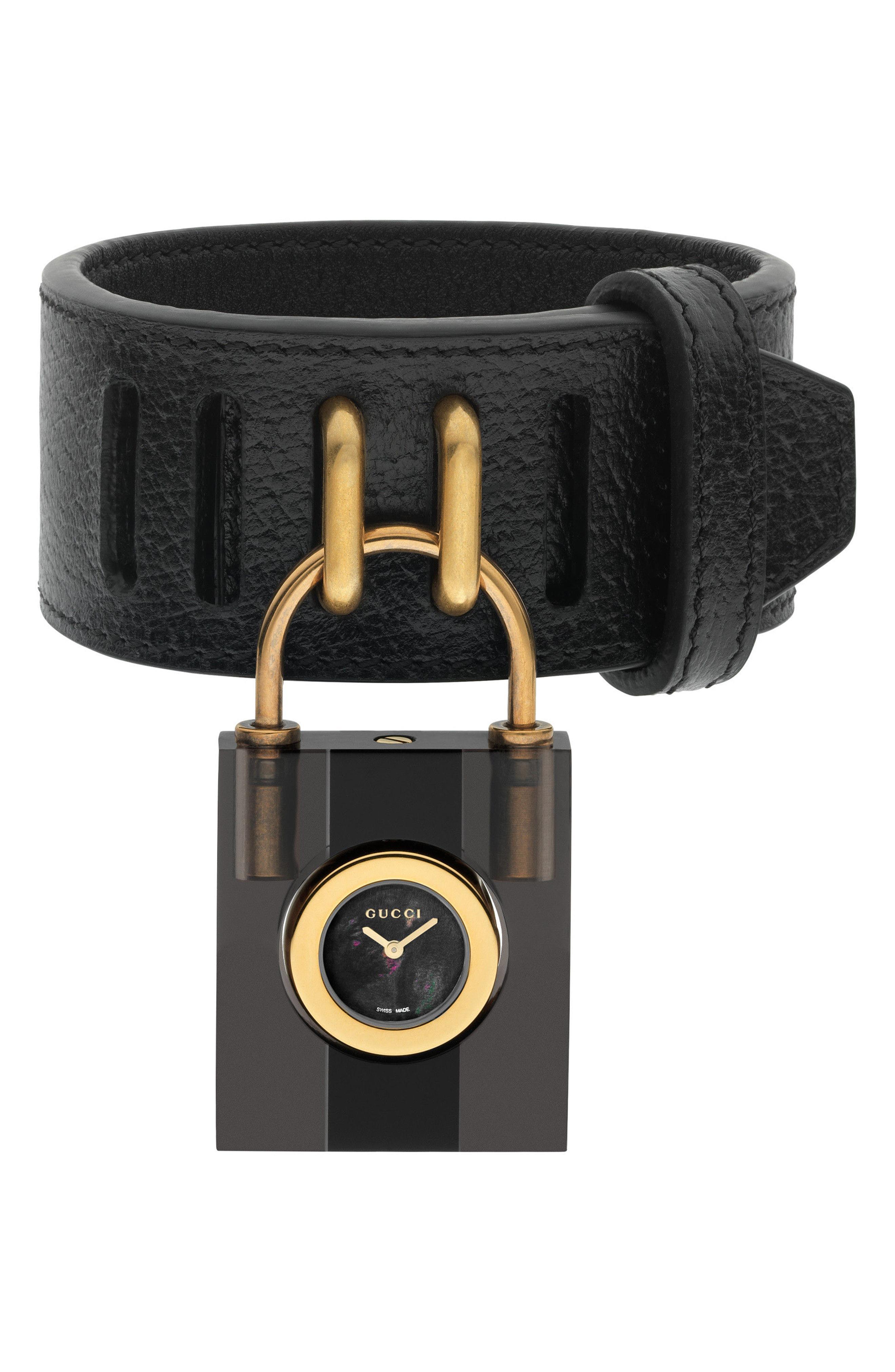 d53f7bda486 Lyst - Gucci Constance Watch