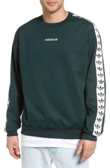 goditi il miglior prezzo nuovi arrivi accaparramento come merce rara adidas Originals Tnt Trefoil Sweatshirt in Green Night/ White ...