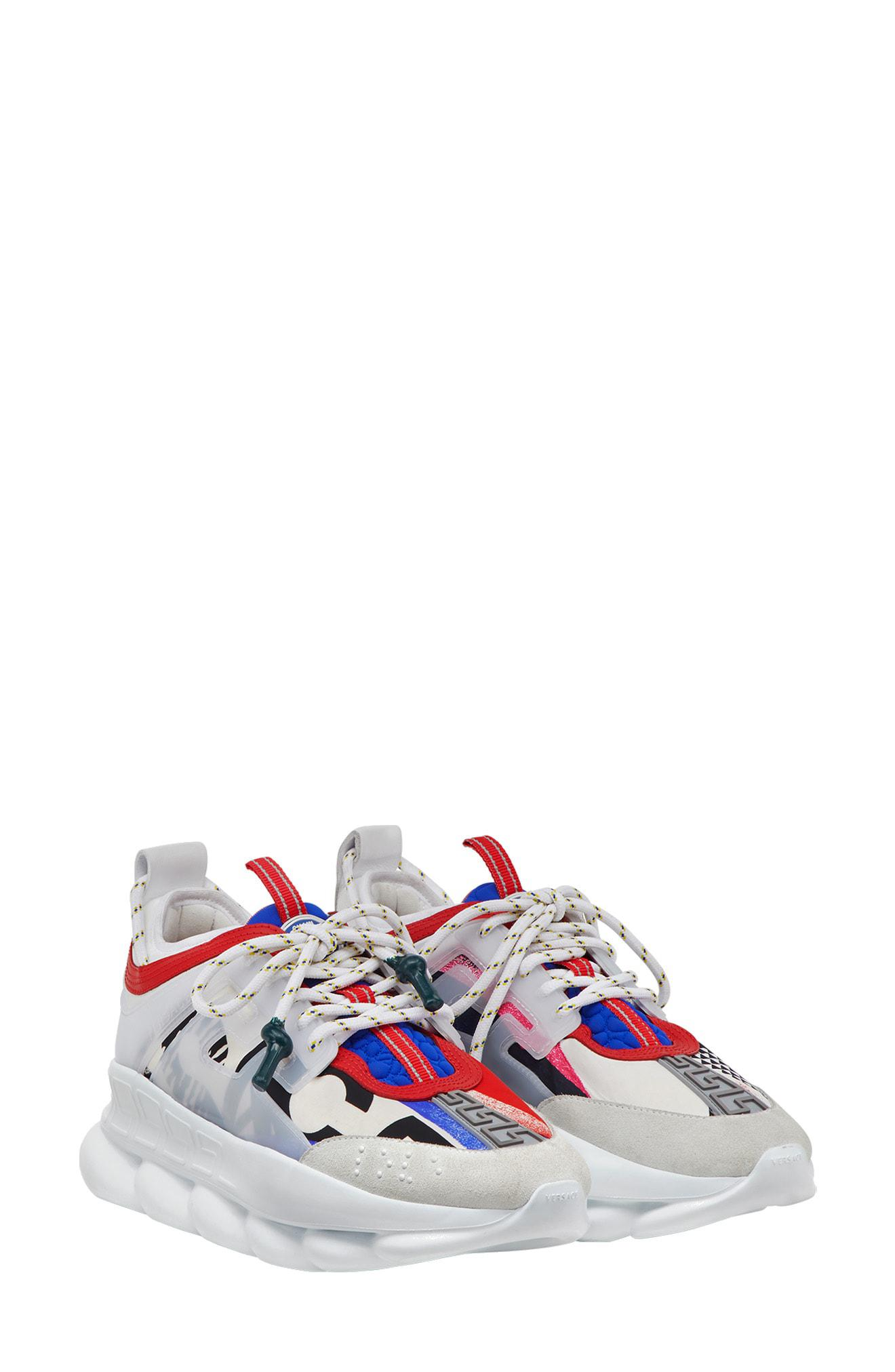 Versace Chain Reaction Sneaker - Lyst