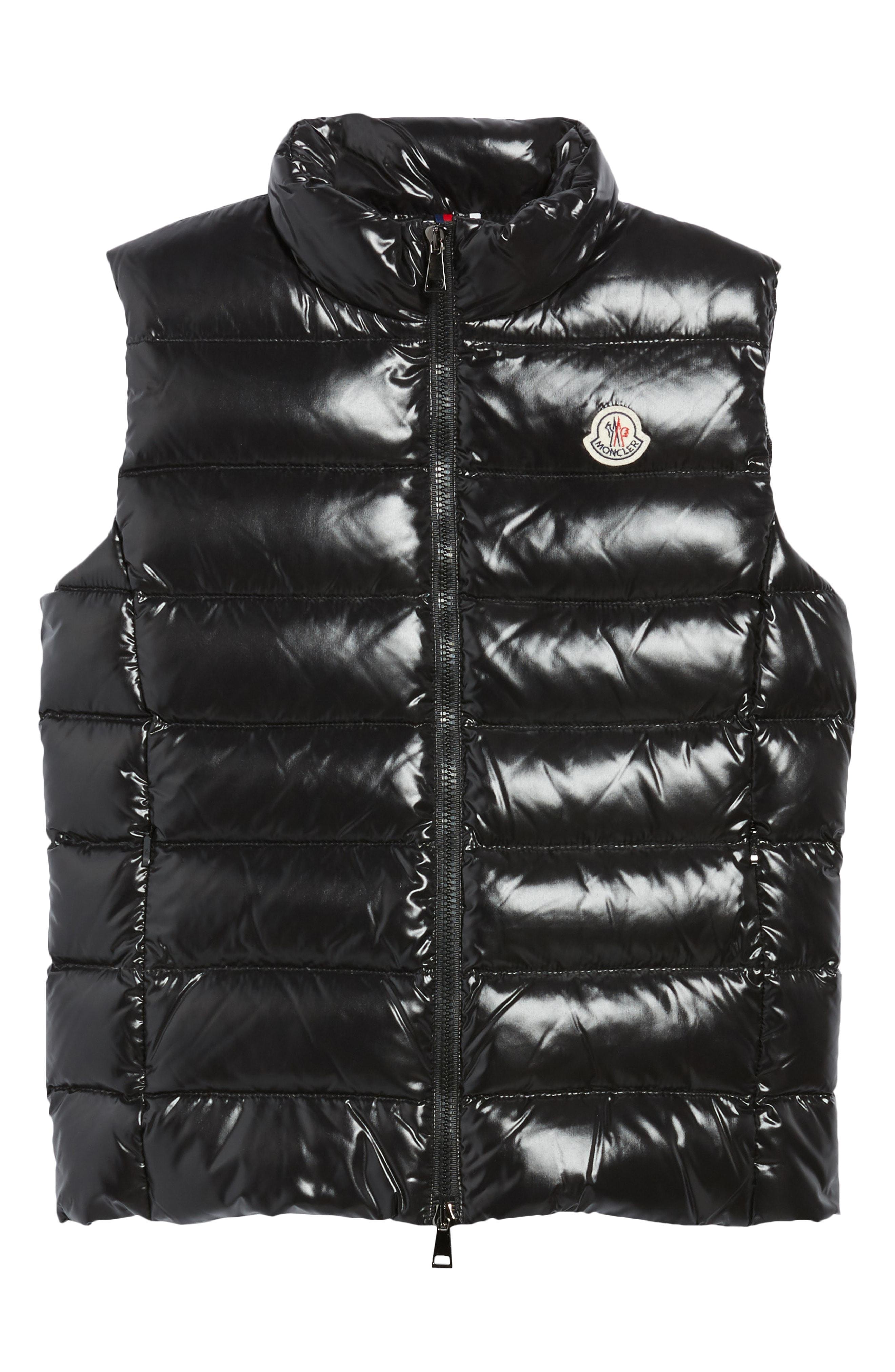 2b0e40c70 Lyst - Moncler Girl s Ghany Down Puffer Vest - Save 58%