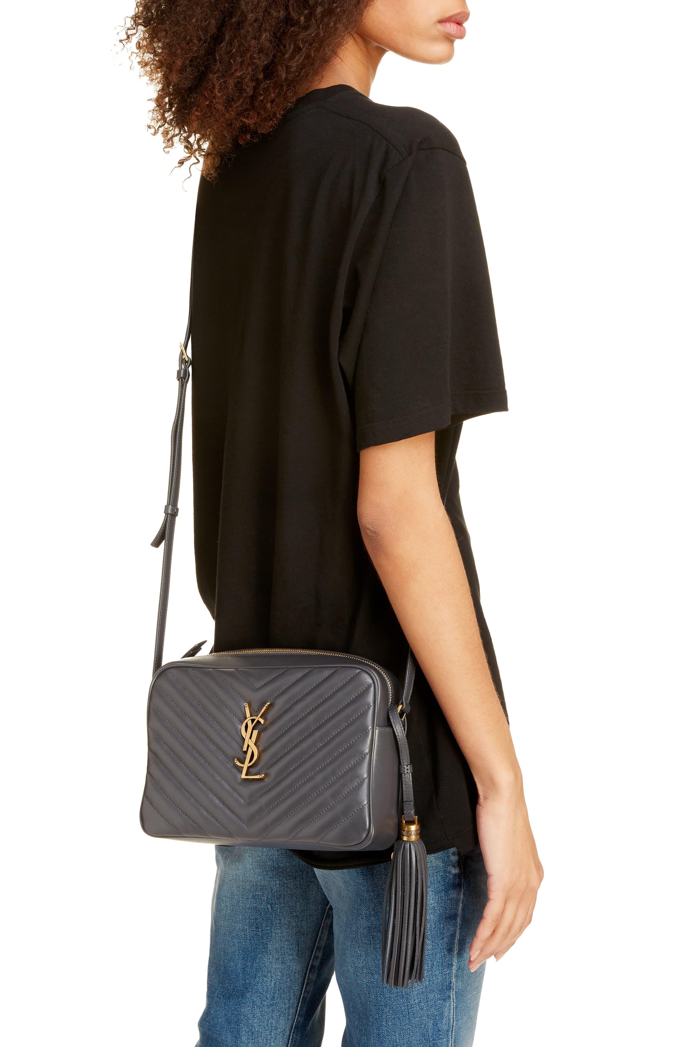 Lou Matelassé Leather Camera Bag