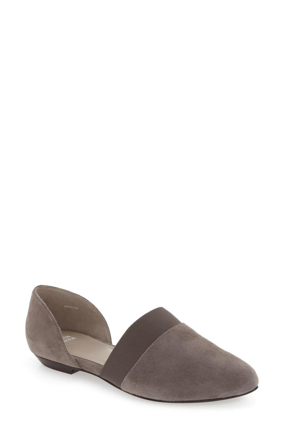 97e20d62c50 Lyst - Eileen Fisher Flute Pointy Toe Flat