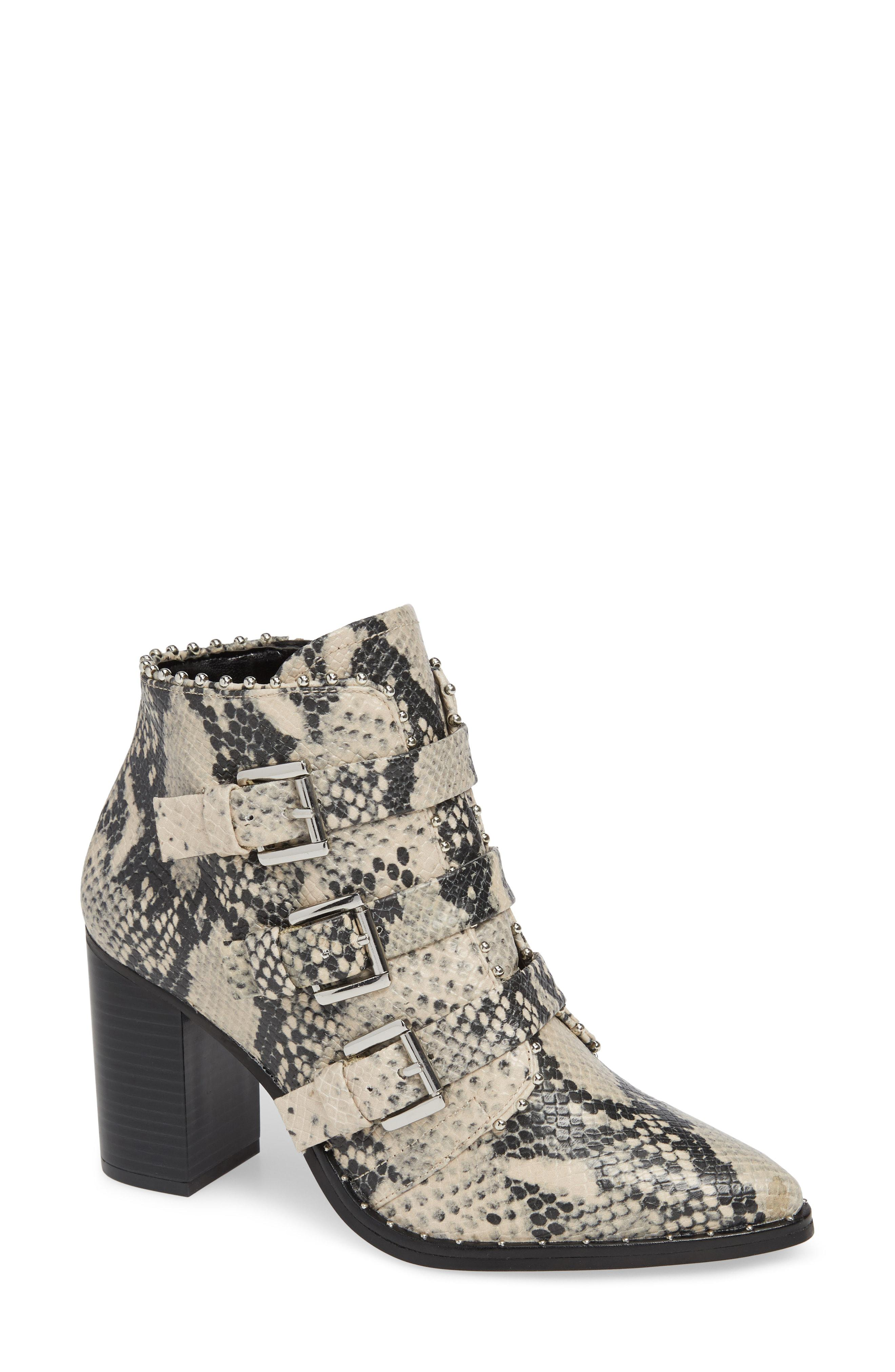 a6f41771237 Steve Madden Black Humble Bootie