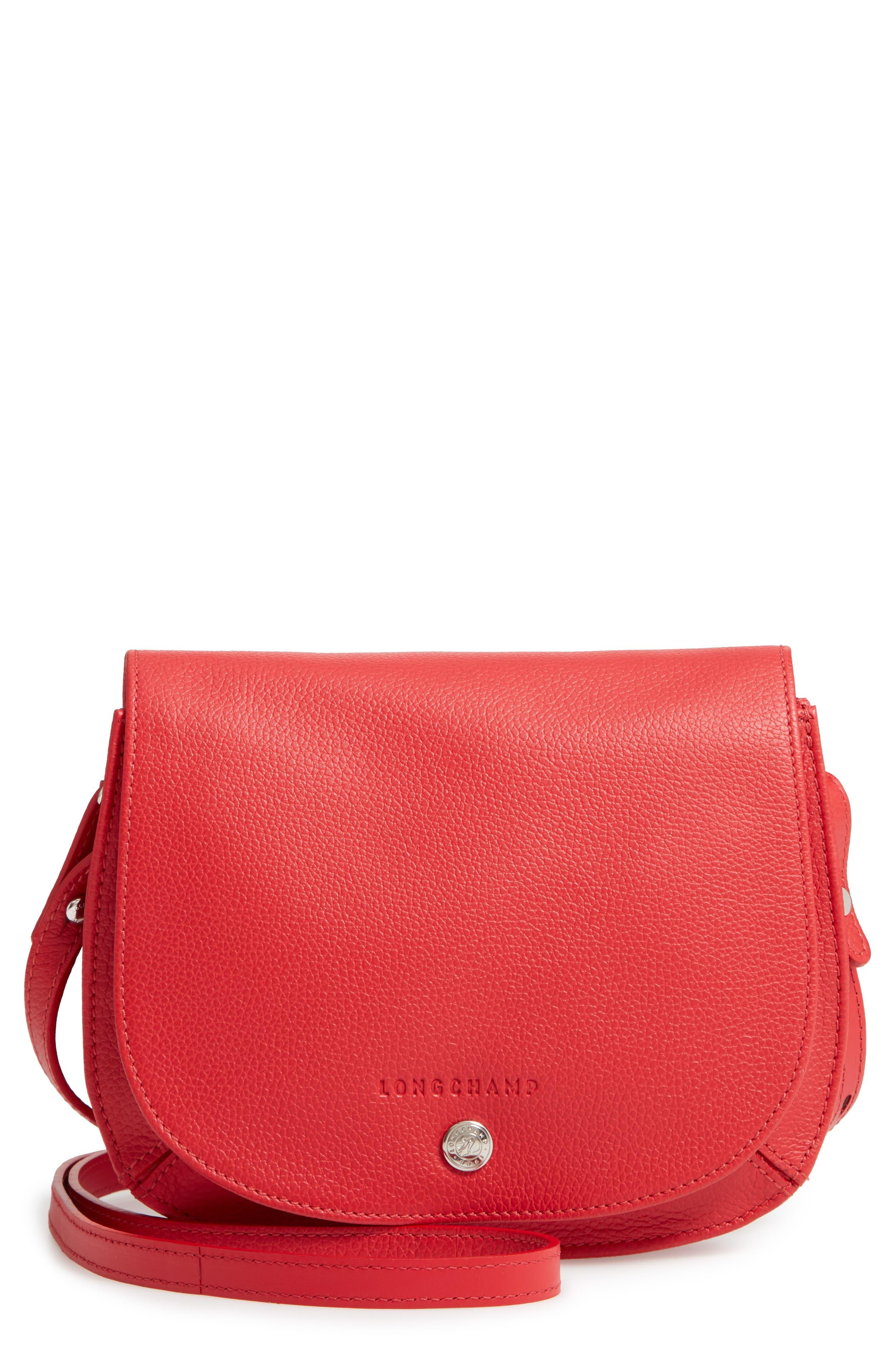 Small Le Foulonne Leather Crossbody Bag
