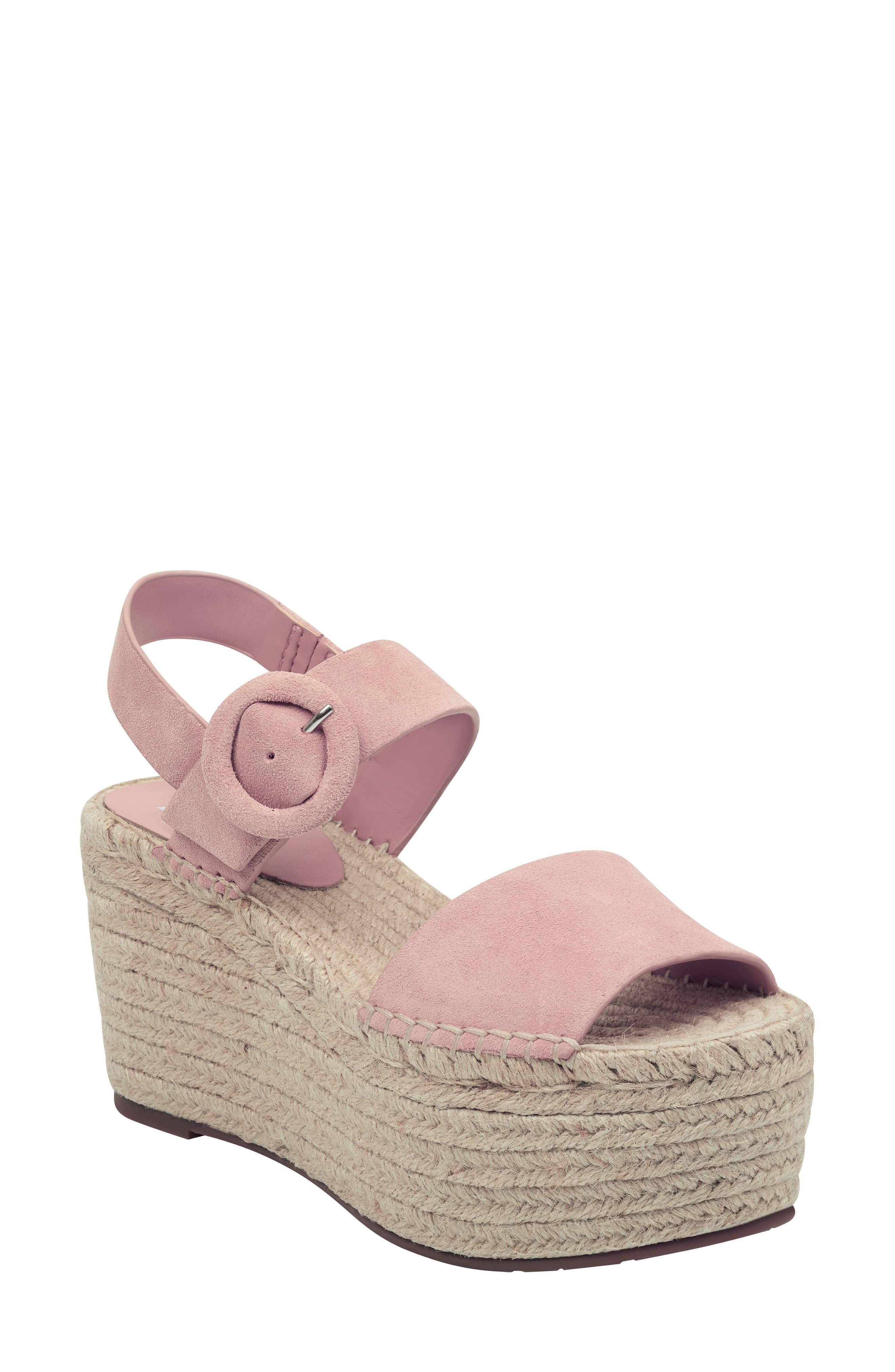 f7075c8d518 Marc Fisher Rex Platform Sandal in Pink - Lyst