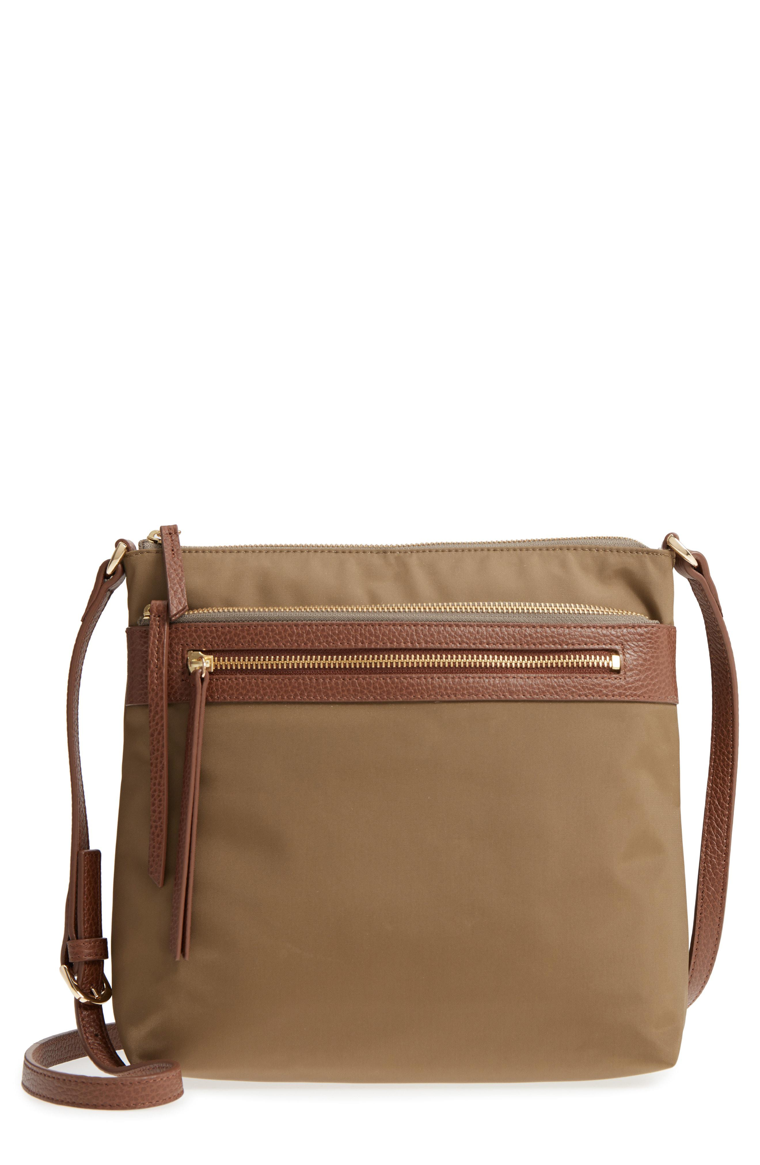 9fec106a99fb Lyst - Nordstrom Kaison Nylon Crossbody Bag in Brown