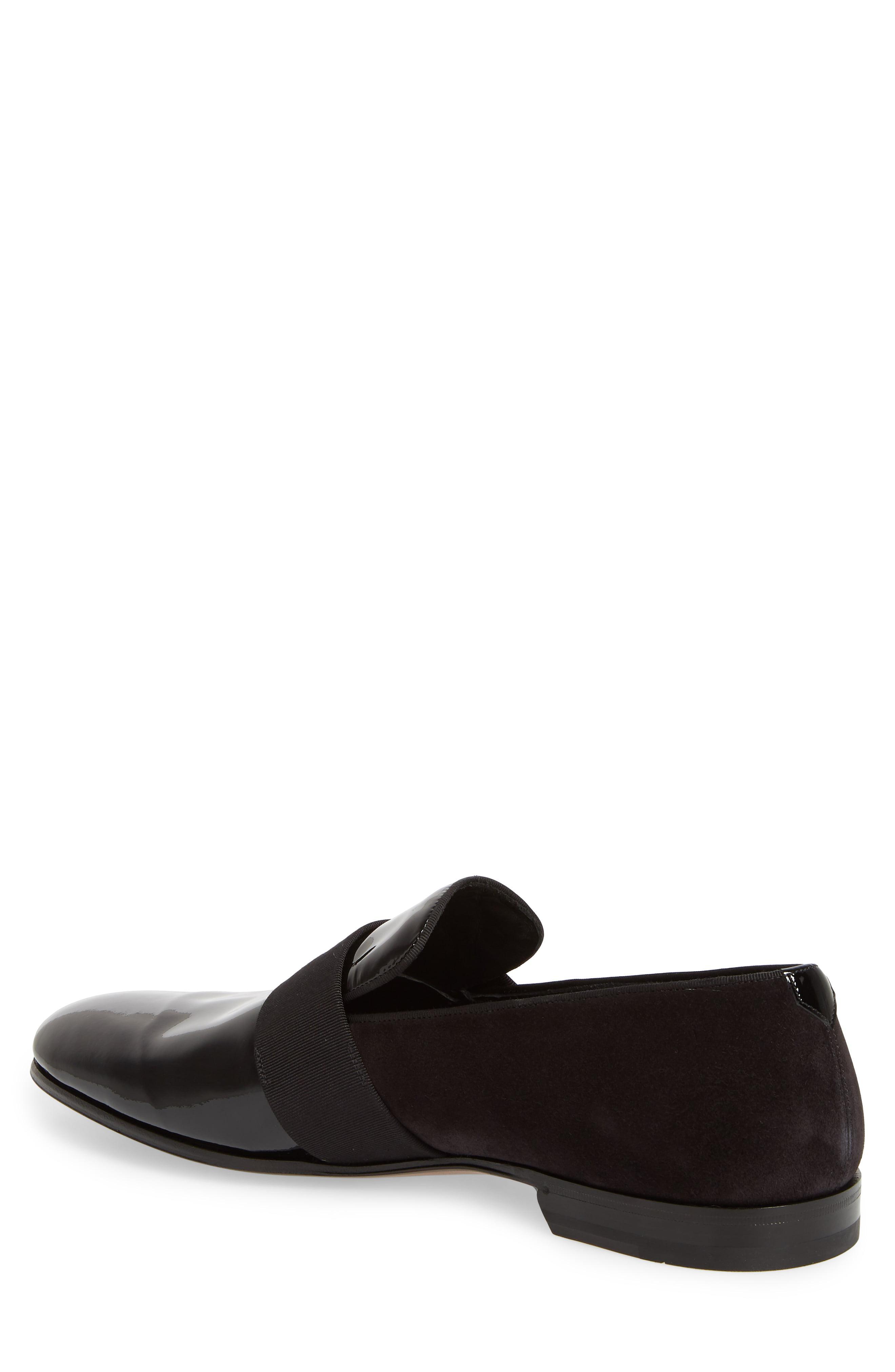 ef416427ae0d Ferragamo - Black Bryden Banded Loafer for Men - Lyst. View fullscreen