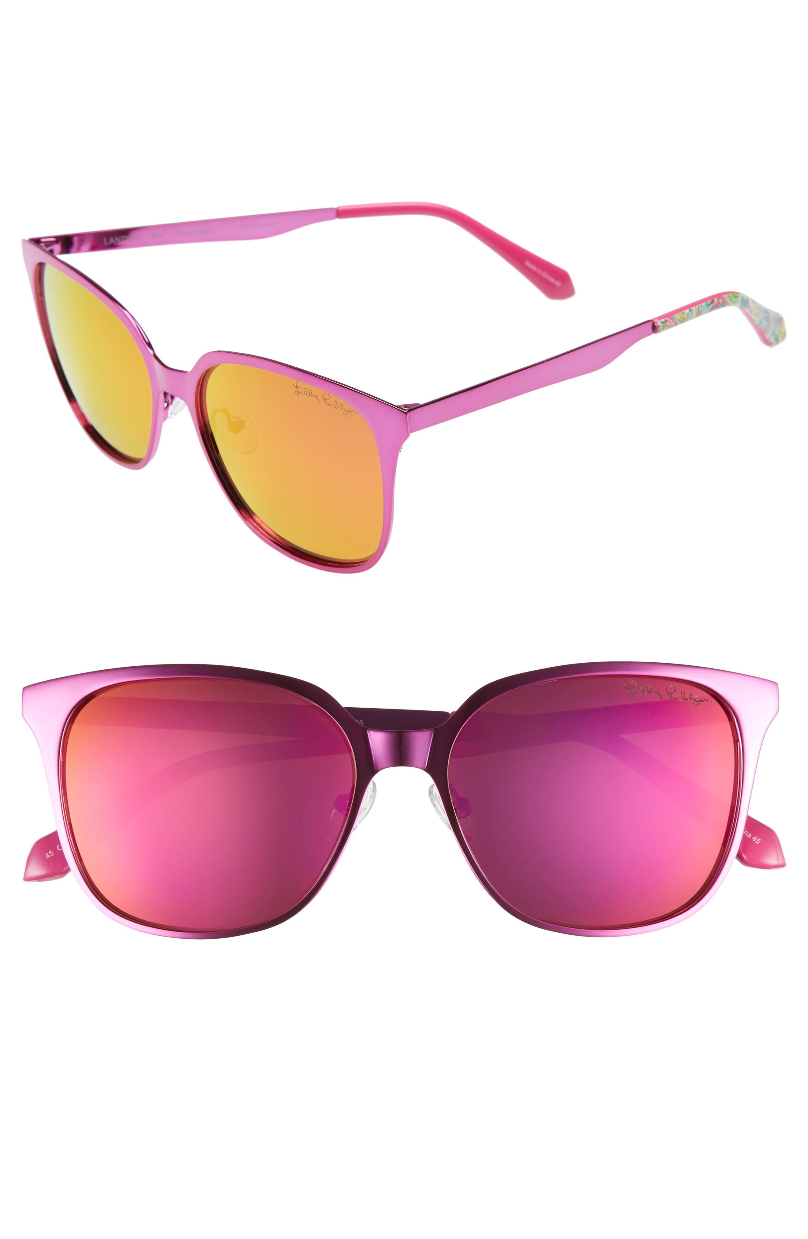 0b0f521cc7 Lilly Pulitzer. Women s Lilly Pulitzer Landon 54mm Polarized Sunglasses -