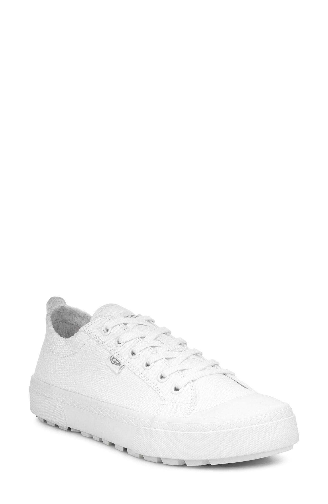 2edc3f31698 Lyst - UGG Ugg Aries Platform Sneaker in White